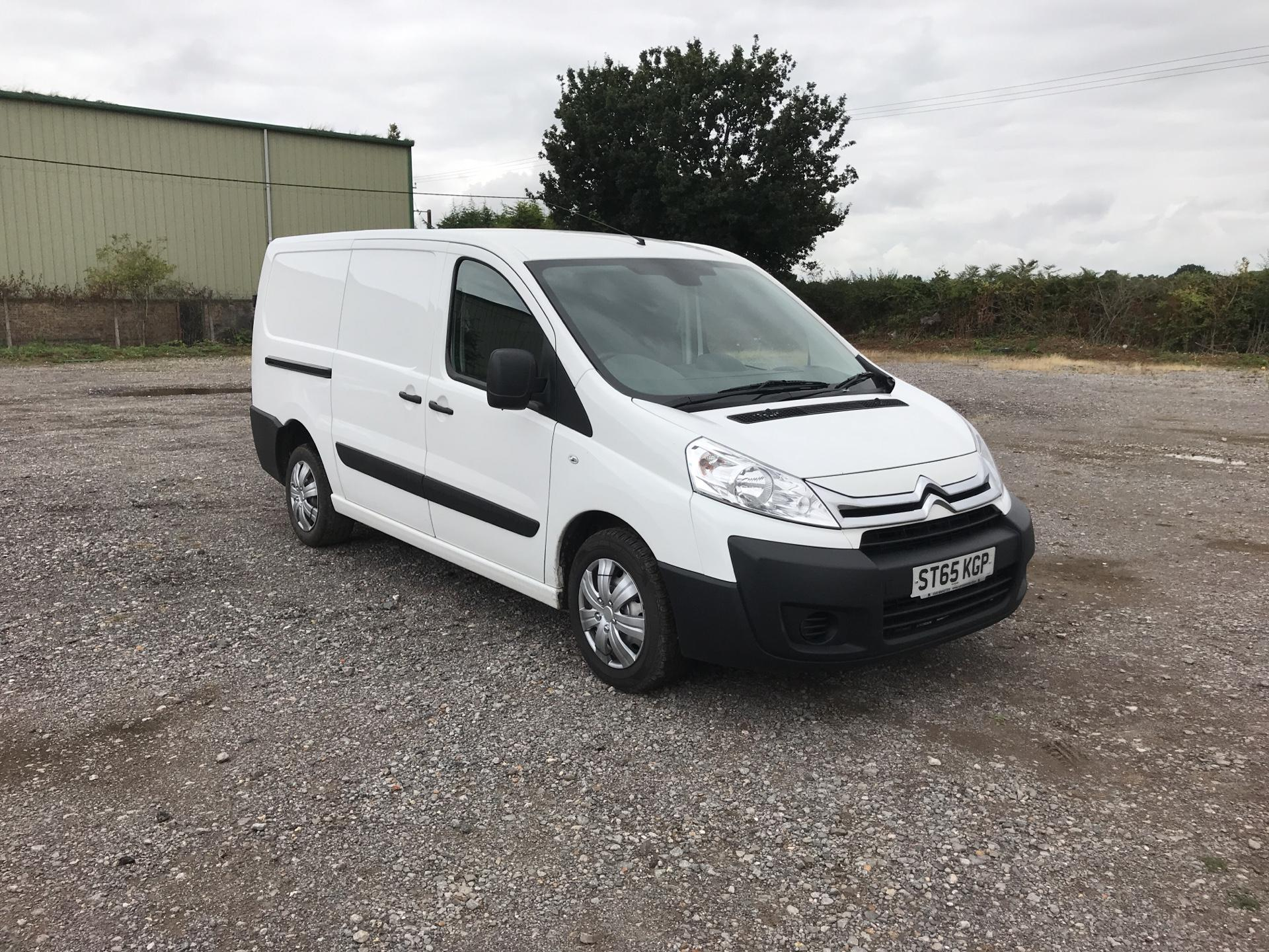 2015 Citroen Dispatch 1200 2.0 Hdi 125 H1 Van Enterprise (ST65KGP)