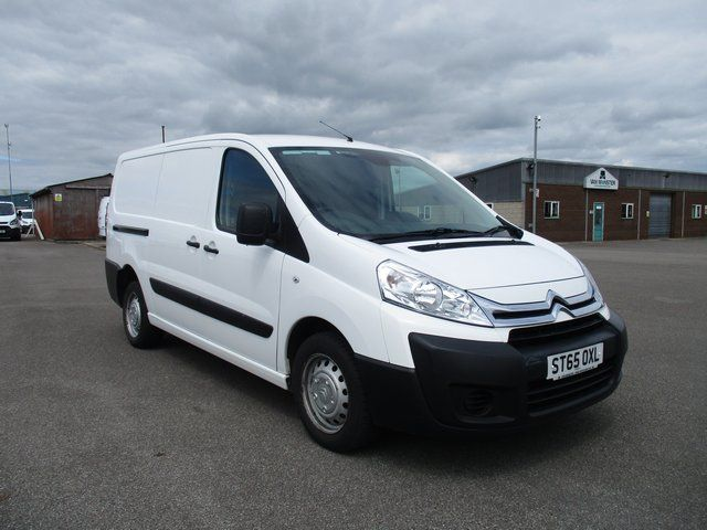 2015 Citroen Dispatch L2 DIESEL 1200 HDI 125 H1 VAN ENTERPRISE EURO 5. AIR CON (ST65OXL)