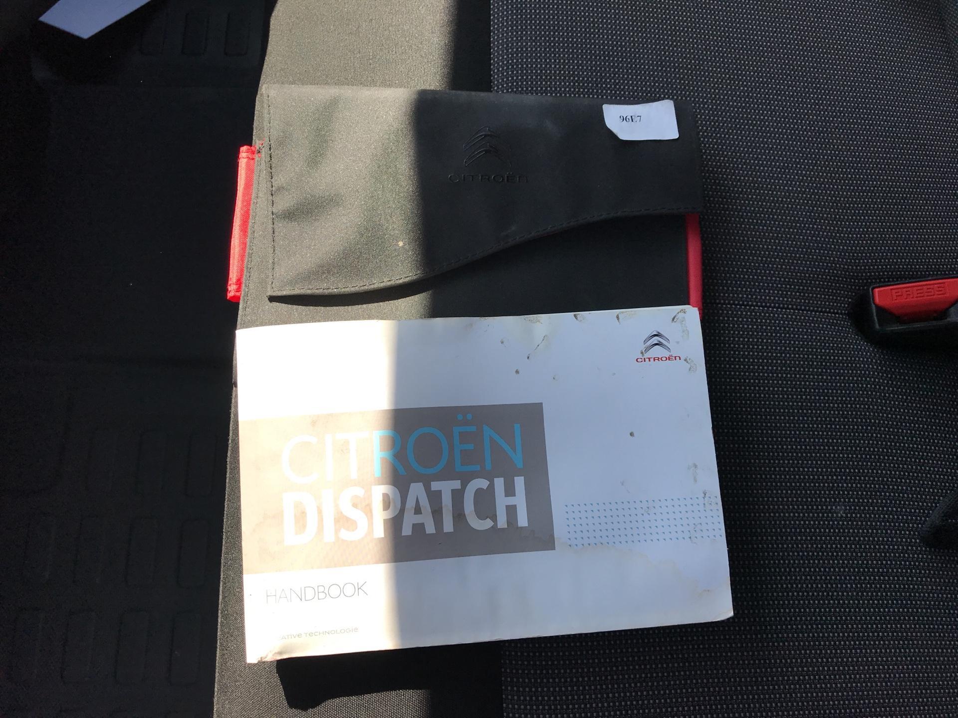 2016 Citroen Dispatch M DIESEL 1000 1.6 BLUEHDI 115PS VAN X EURO 6 (ST66MTJ) Image 23