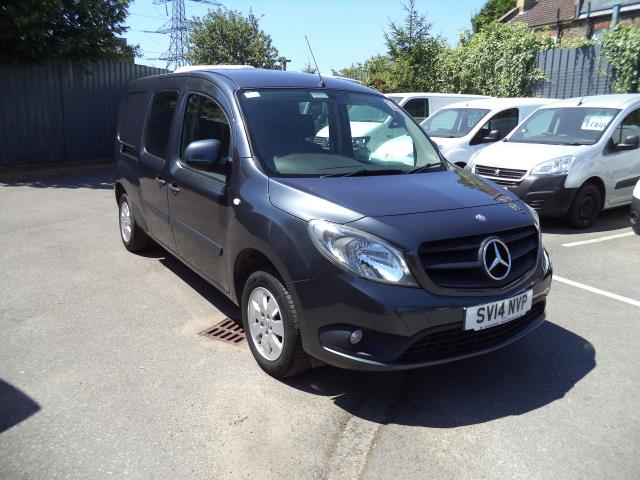 2014 Mercedes-Benz Citan DUALINER EXTRA LONG 109 CDI BLUEEFFICIENCY CREW VAN EURO 5 (SV14NVP)