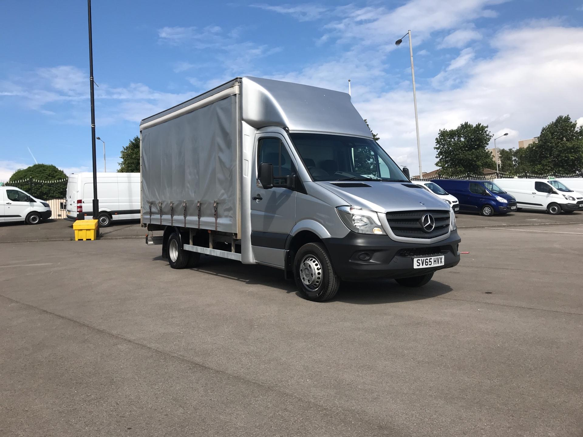 2015 Mercedes-Benz Sprinter 516 Cdi LUTON CURTAINSIDE DUAL WHEEL (SV65HVX)