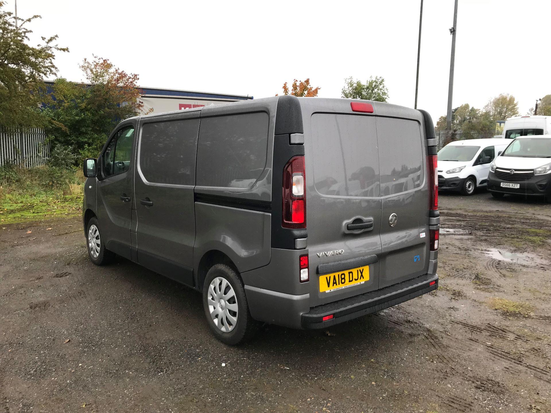 2018 Vauxhall Vivaro 2900 1.6Cdti 120Ps Sportive H1 Van (VA18DJX) Image 5