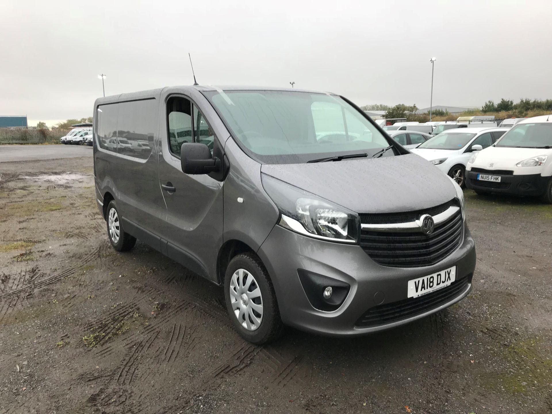 2018 Vauxhall Vivaro 2900 1.6Cdti 120Ps Sportive H1 Van (VA18DJX) Image 1