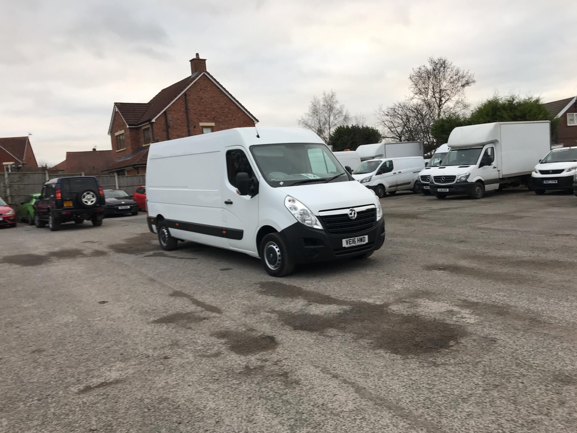 2016 Vauxhall Movano 35 L3 H2 125PS EURO 5 (VE16HWD)