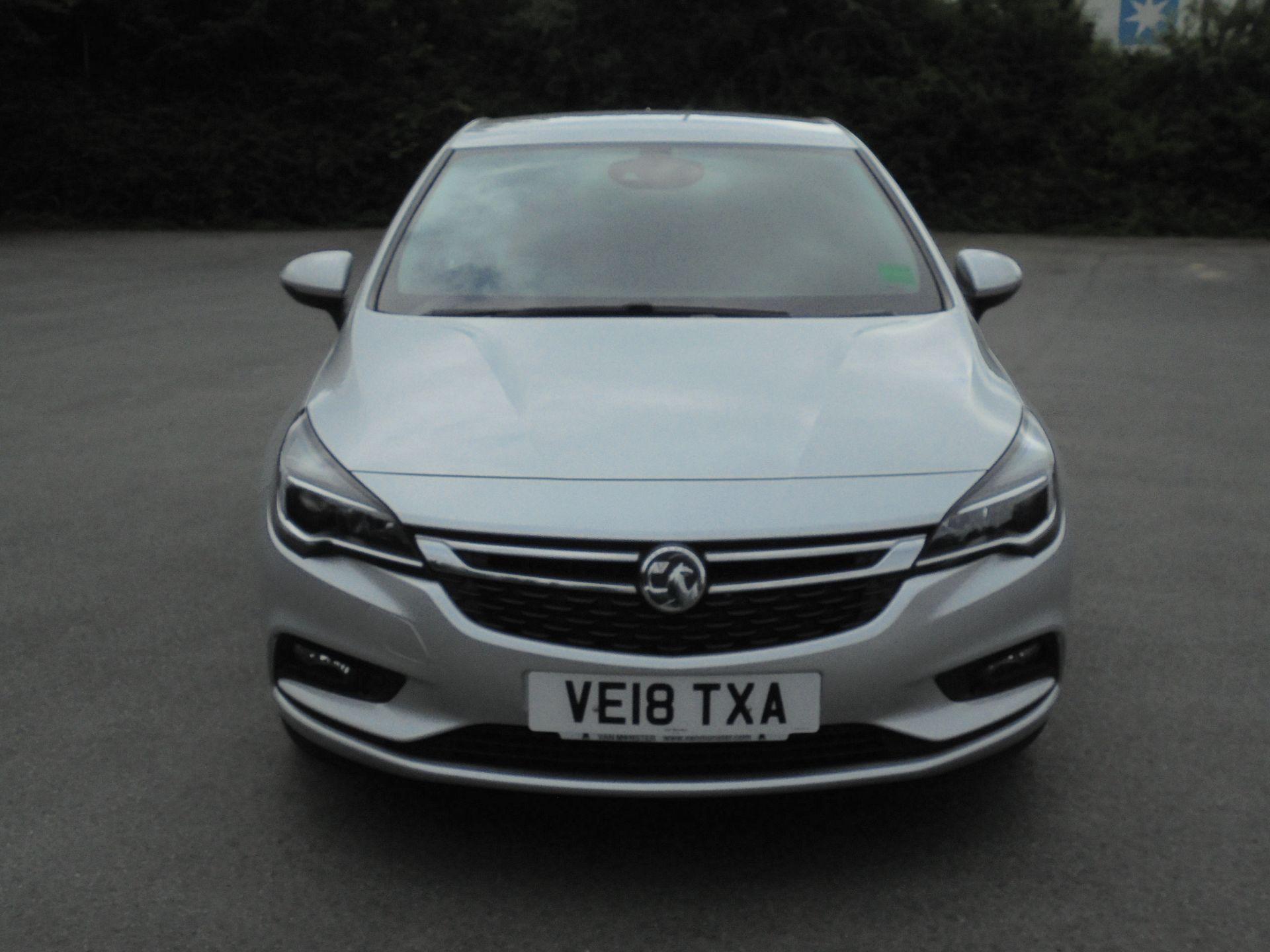2018 Vauxhall Astra 1.6 Cdti 16V Ecoflex Sri Nav 5Dr (VE18TXA) Image 2
