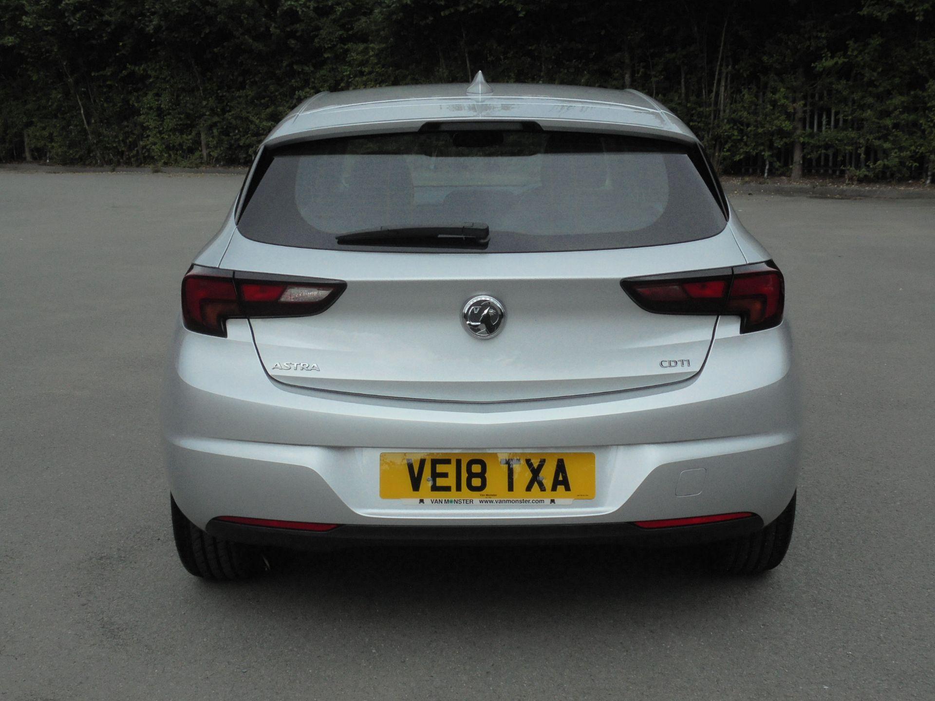 2018 Vauxhall Astra 1.6 Cdti 16V Ecoflex Sri Nav 5Dr (VE18TXA) Image 7