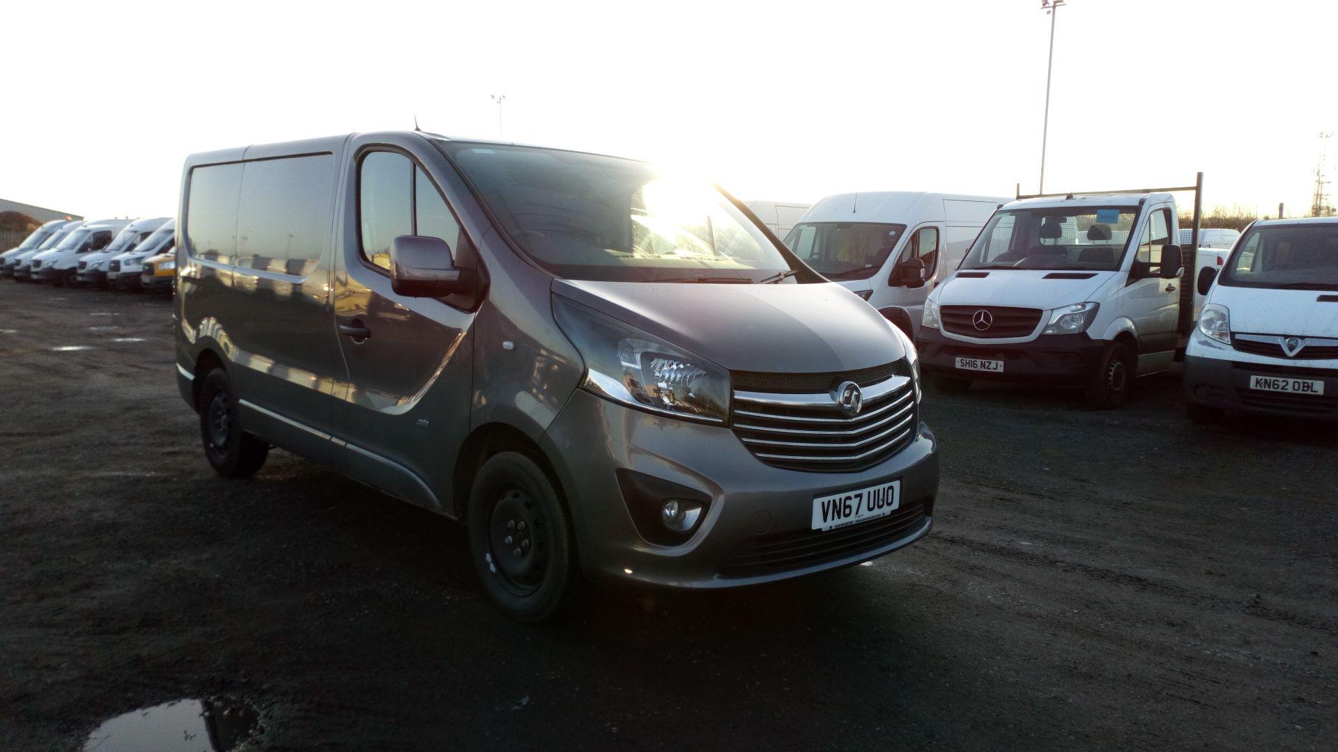 2018 Vauxhall Vivaro 2900 1.6Cdti 120Ps Sportive H1 Van (VN67UUO)