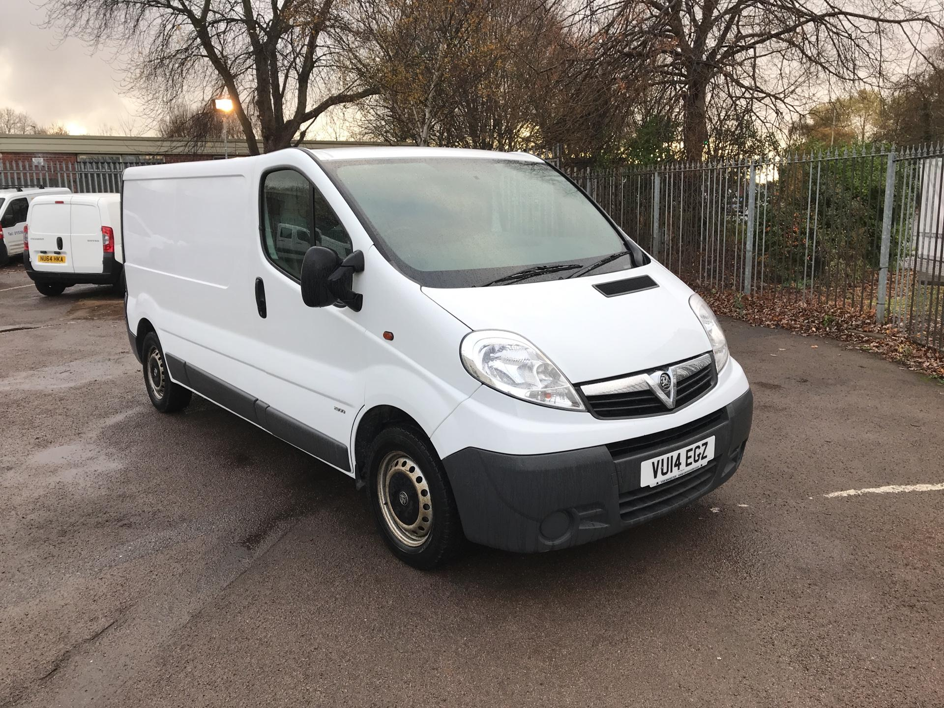 2014 Vauxhall Vivaro 2.0Cdti [115Ps] Van 2.9T Euro 5 *VALUE RANGE VEHICLE - CONDITION REFLECTED IN PRICE* (VU14EGZ)