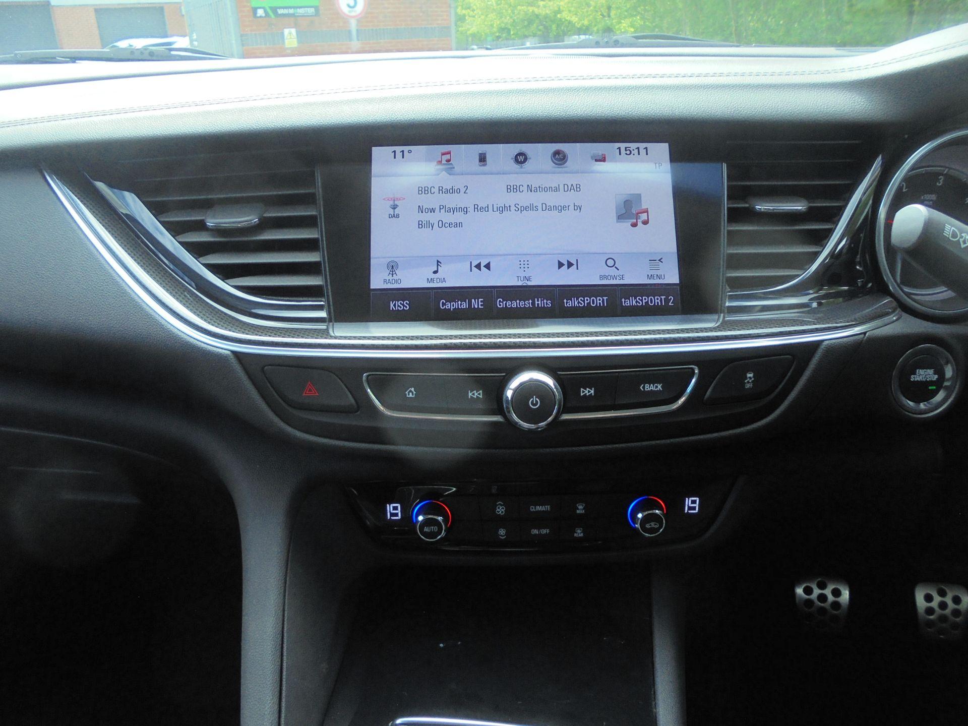2018 Vauxhall Insignia Grand Sport 1.6 Turbo D Ecotec [136] Sri Nav 5Dr (VU18DFF) Image 19