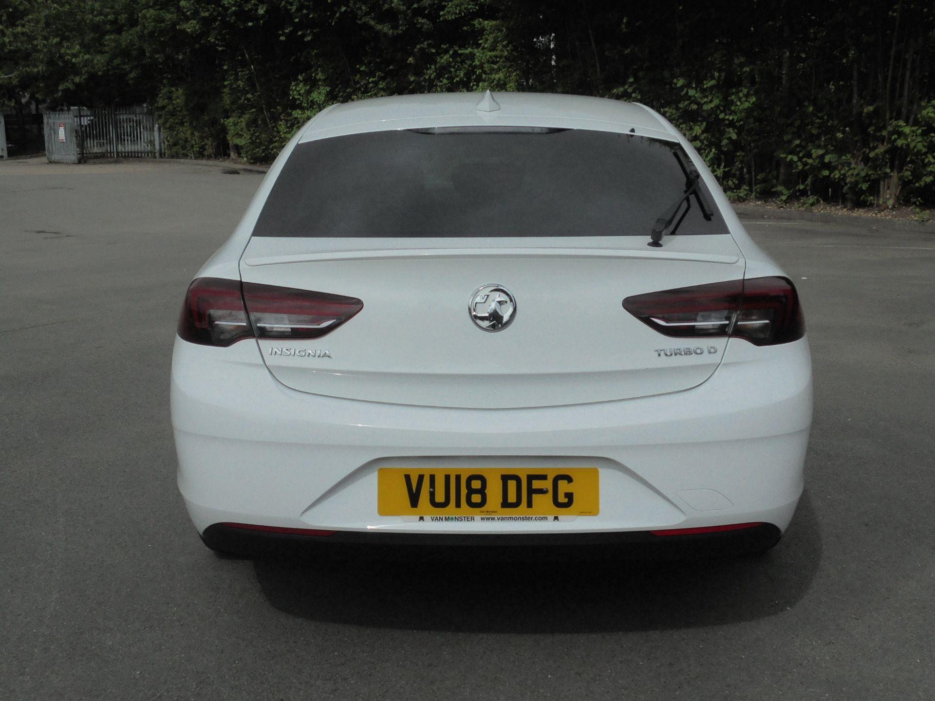 2018 Vauxhall Insignia 1.6 Grand Sport Turbo D Ecotec [136] Sri Nav 5Dr (VU18DFG) Image 8