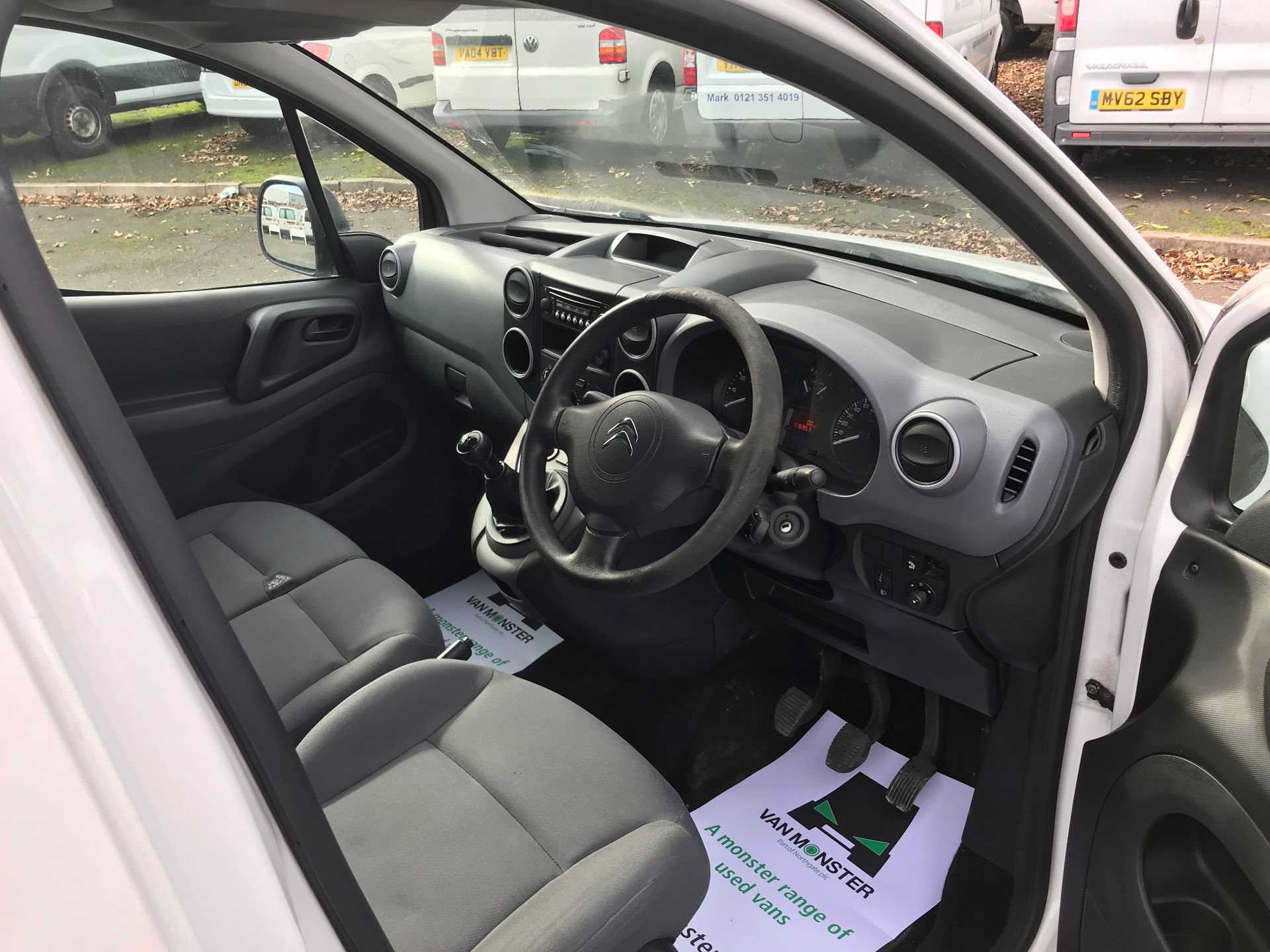 2013 Citroen Berlingo  L1 DIESEL 1.6 HDI 850KG ENTERPRISE 90PS EURO 4/5 (VU63PNX) Image 18