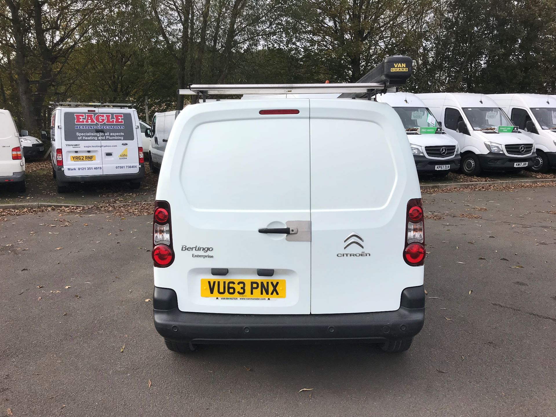 2013 Citroen Berlingo  L1 DIESEL 1.6 HDI 850KG ENTERPRISE 90PS EURO 4/5 (VU63PNX) Image 6