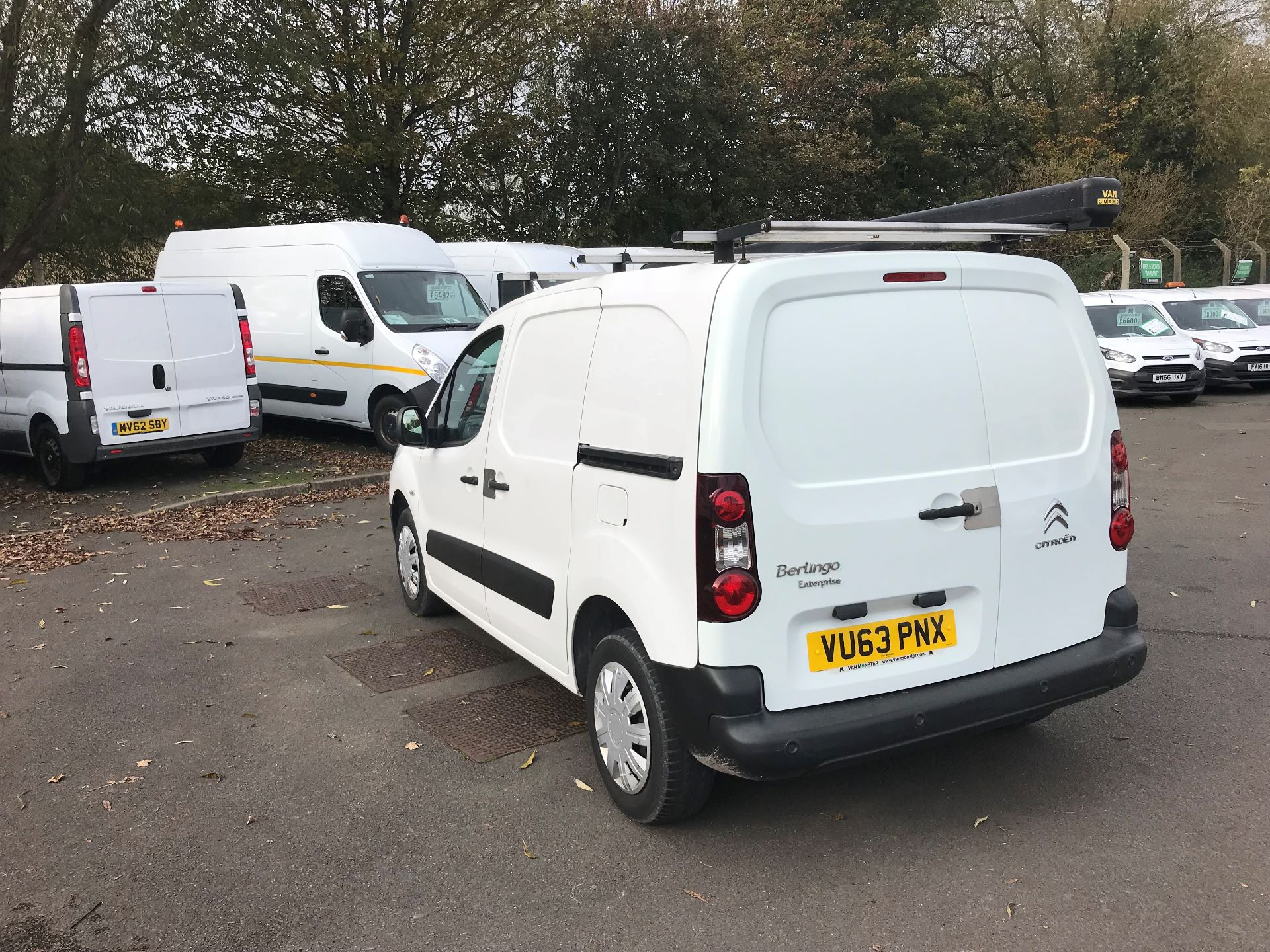 2013 Citroen Berlingo  L1 DIESEL 1.6 HDI 850KG ENTERPRISE 90PS EURO 4/5 (VU63PNX) Image 5