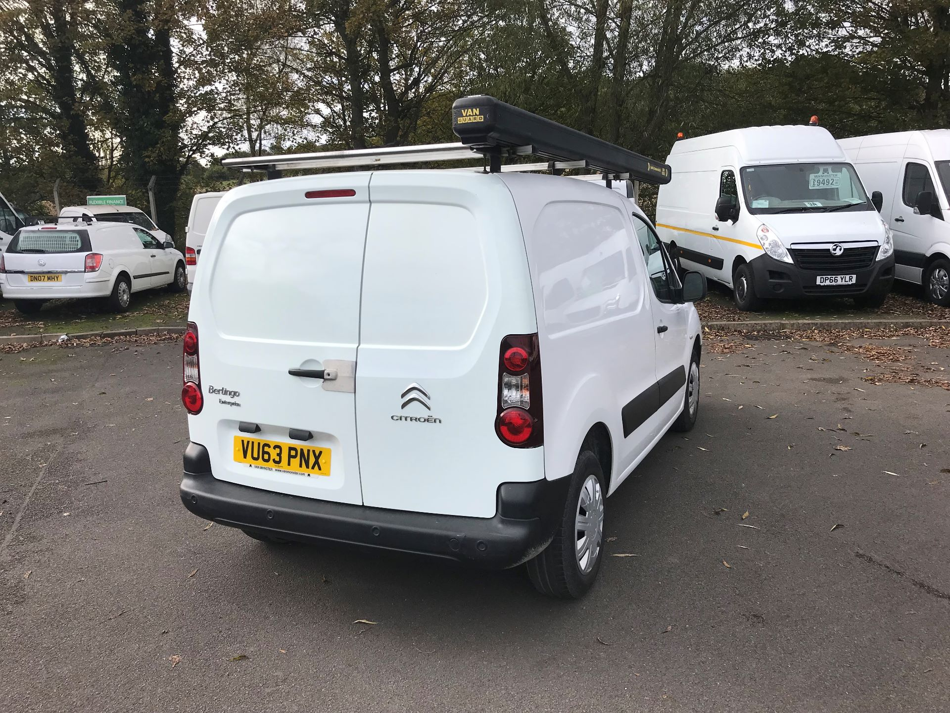 2013 Citroen Berlingo  L1 DIESEL 1.6 HDI 850KG ENTERPRISE 90PS EURO 4/5 (VU63PNX) Image 4
