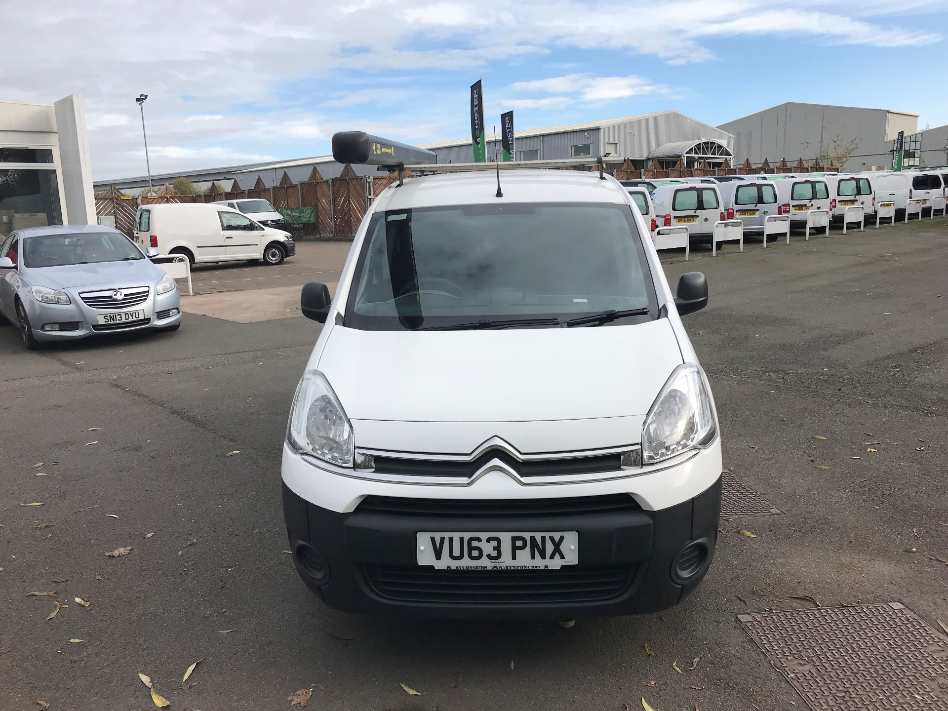 2013 Citroen Berlingo  L1 DIESEL 1.6 HDI 850KG ENTERPRISE 90PS EURO 4/5 (VU63PNX) Image 3