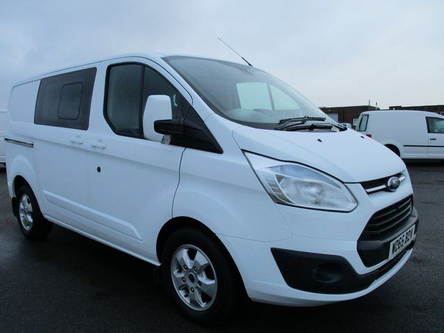 2015 Ford Transit Custom 2.2 SWB LOW ROOF 125PS LIMITED CREW VAN. AIR CON. ALLOYS (WD65BDV)