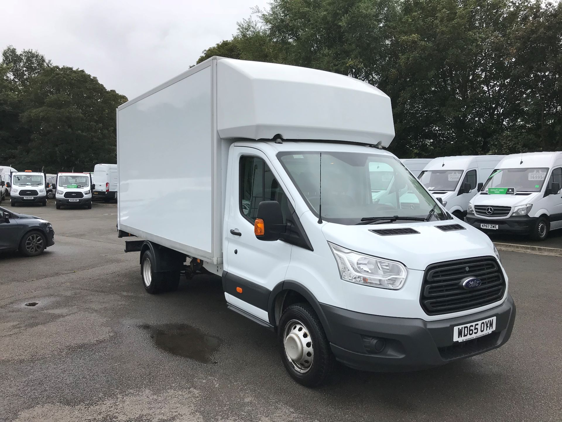 2015 Ford Transit 2.2 TDCI ONE STOP LUTON WITH TAIL LIFT 125PS EURO 5 (WD65OYM)
