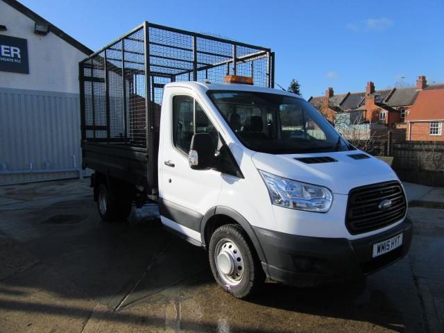 2015 Ford Transit 2.2 Tdci 125Ps Caged Tipper (WM15HYT)