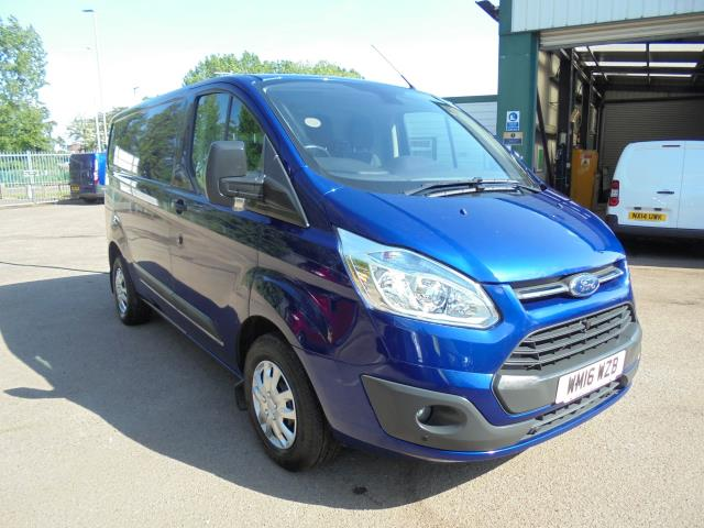 2016 Ford Transit Custom 290 L1 DIESEL FWD 2.2 TDCI 125PS L/ROOF TREND EURO 5 ( BLUE COLOUR ) (WM16WZB)