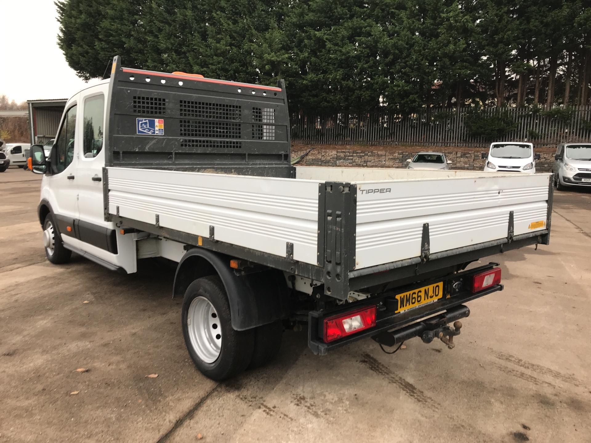 2016 Ford Transit  350 L3 DOUBLE CAB TIPPER 130PS EURO 5 (WM66NJO) Image 5