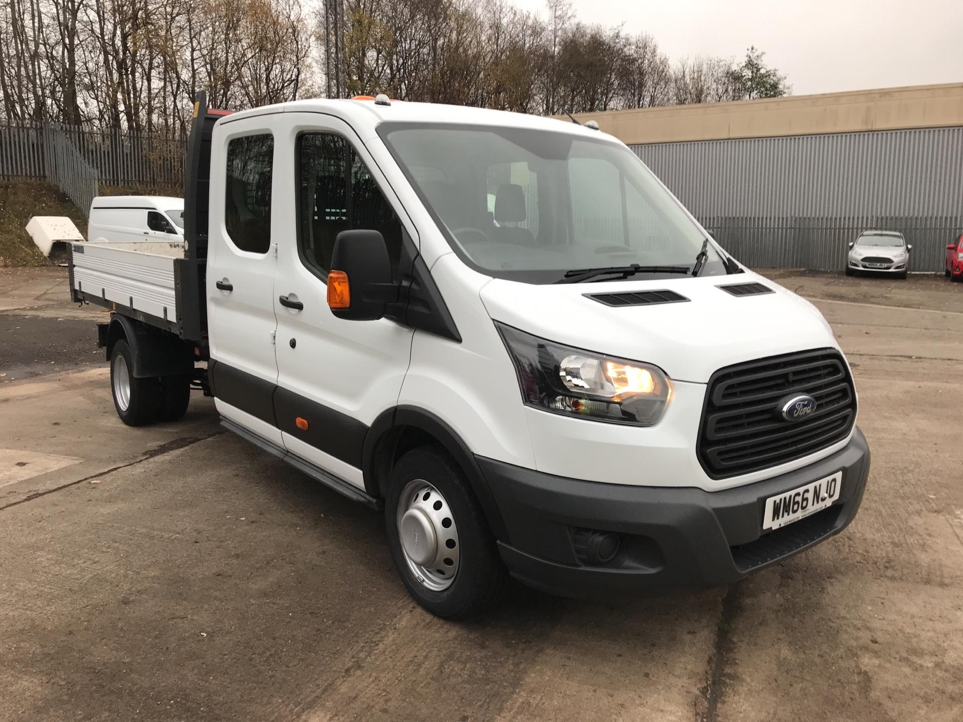 2016 Ford Transit  350 L3 DOUBLE CAB TIPPER 130PS EURO 5 (WM66NJO)