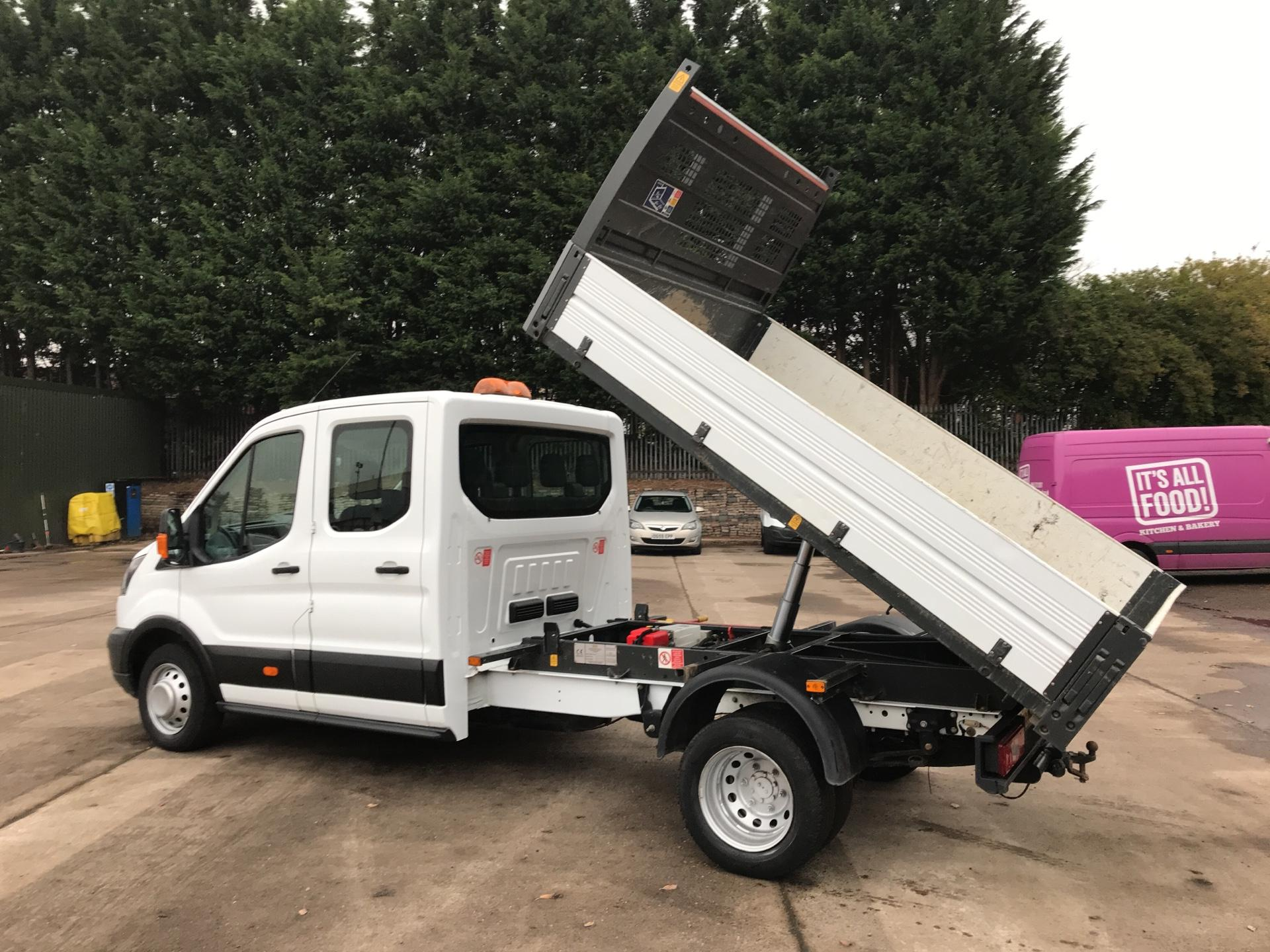 2016 Ford Transit  350 L3 DOUBLE CAB TIPPER 130PS EURO 5 (WM66NJO) Image 21