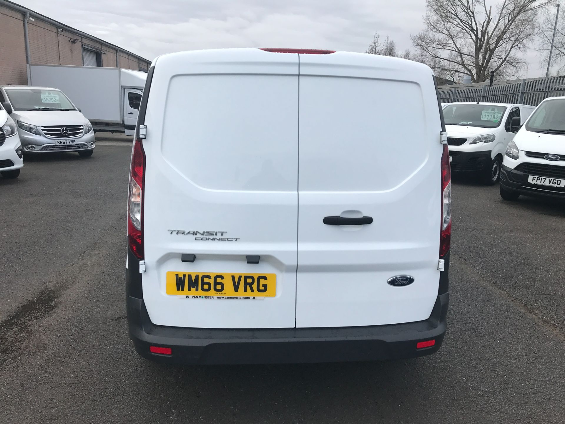 2016 Ford Transit Connect T200 L1 H1 1.5TDCI 75PS EURO 5 (WM66VRG) Image 8