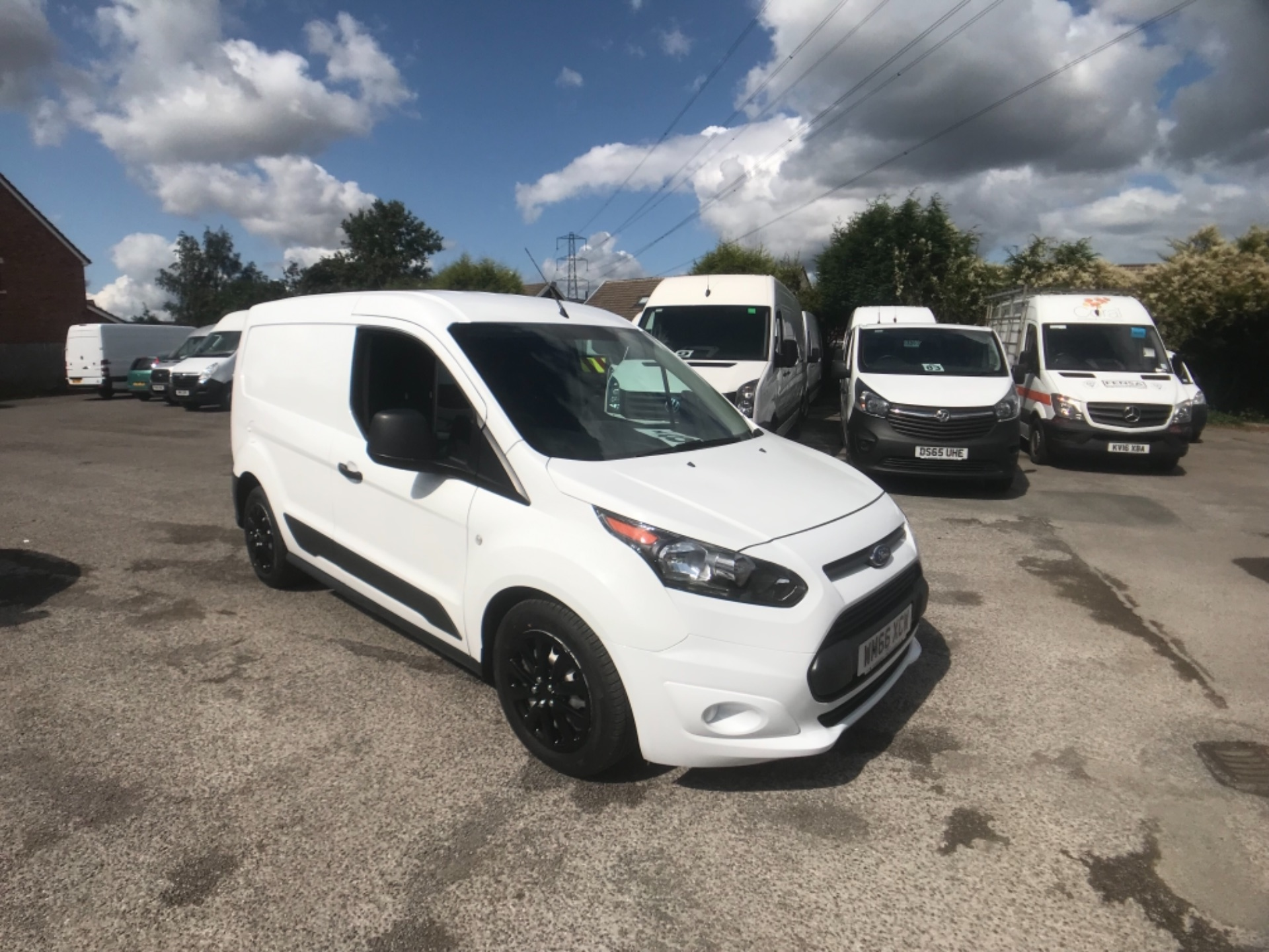 2016 Ford Transit Connect 1.5 Tdci 75Ps Van 200 L1 Diesel 1.5 TDCi 75PS Van EURO 6 (WM66XCW)