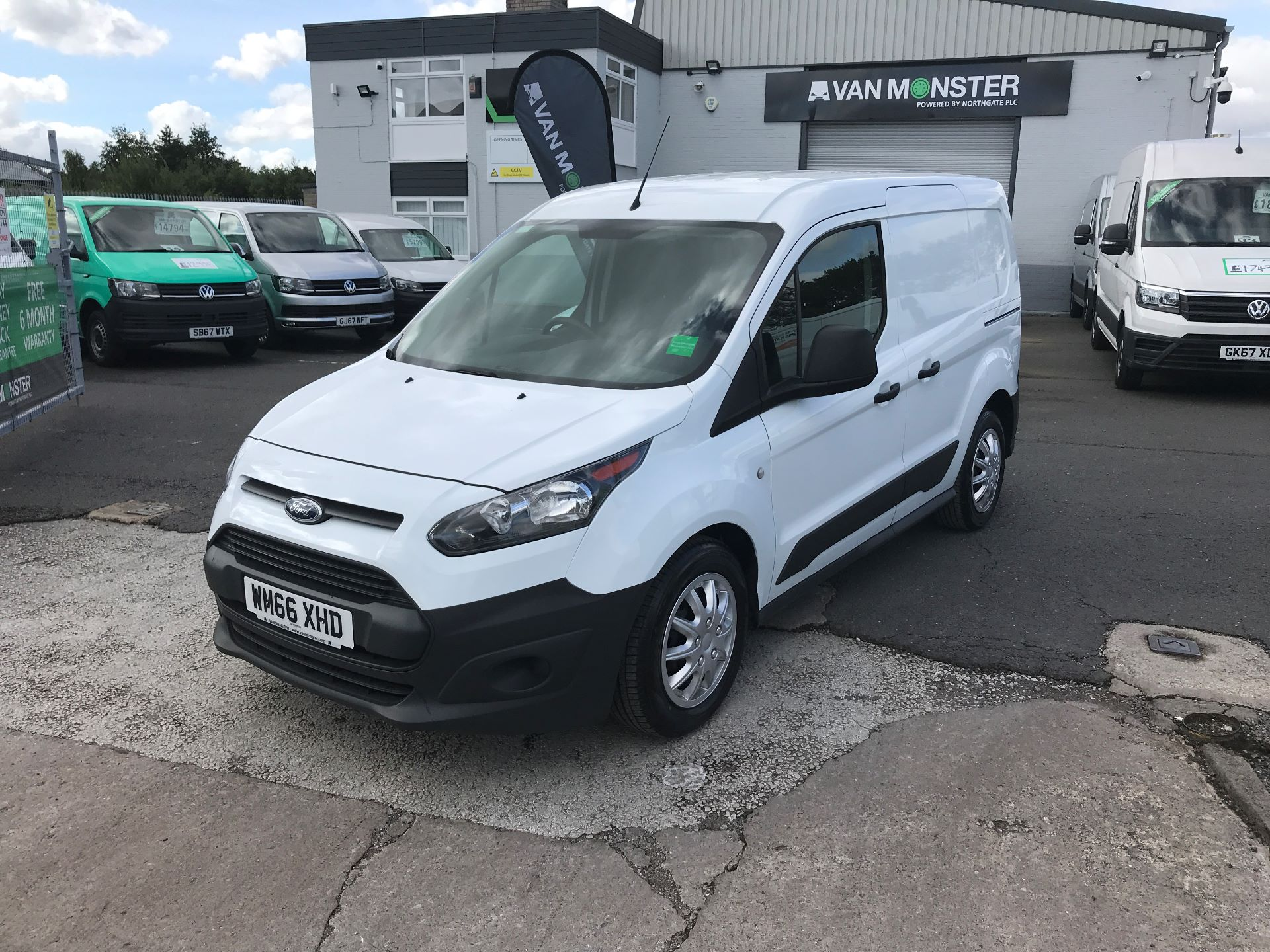 2016 Ford Transit Connect T200 L1 H1 1.5TDCI 75PS  (WM66XHD) Image 3