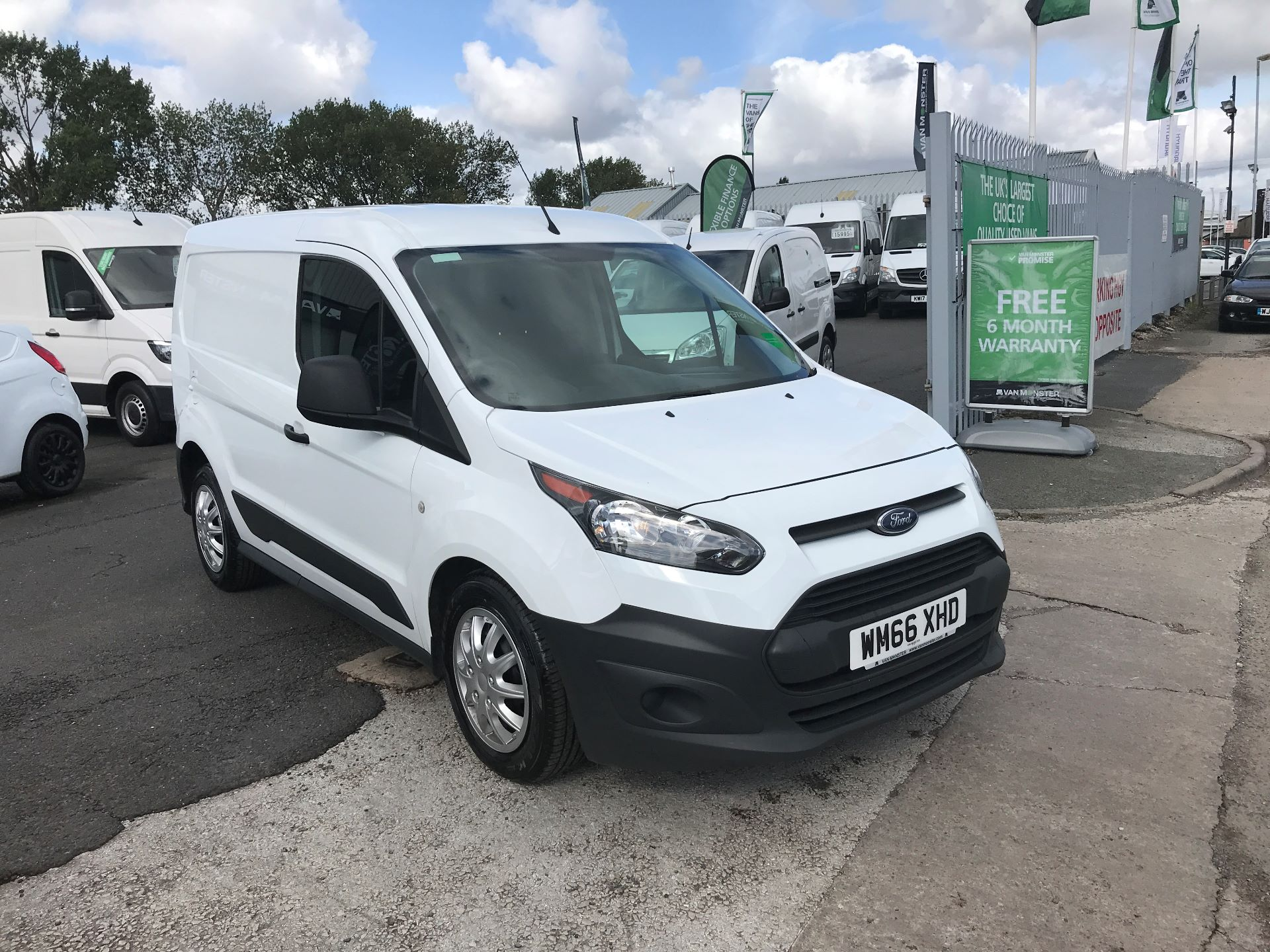 2016 Ford Transit Connect T200 L1 H1 1.5TDCI 75PS  (WM66XHD)