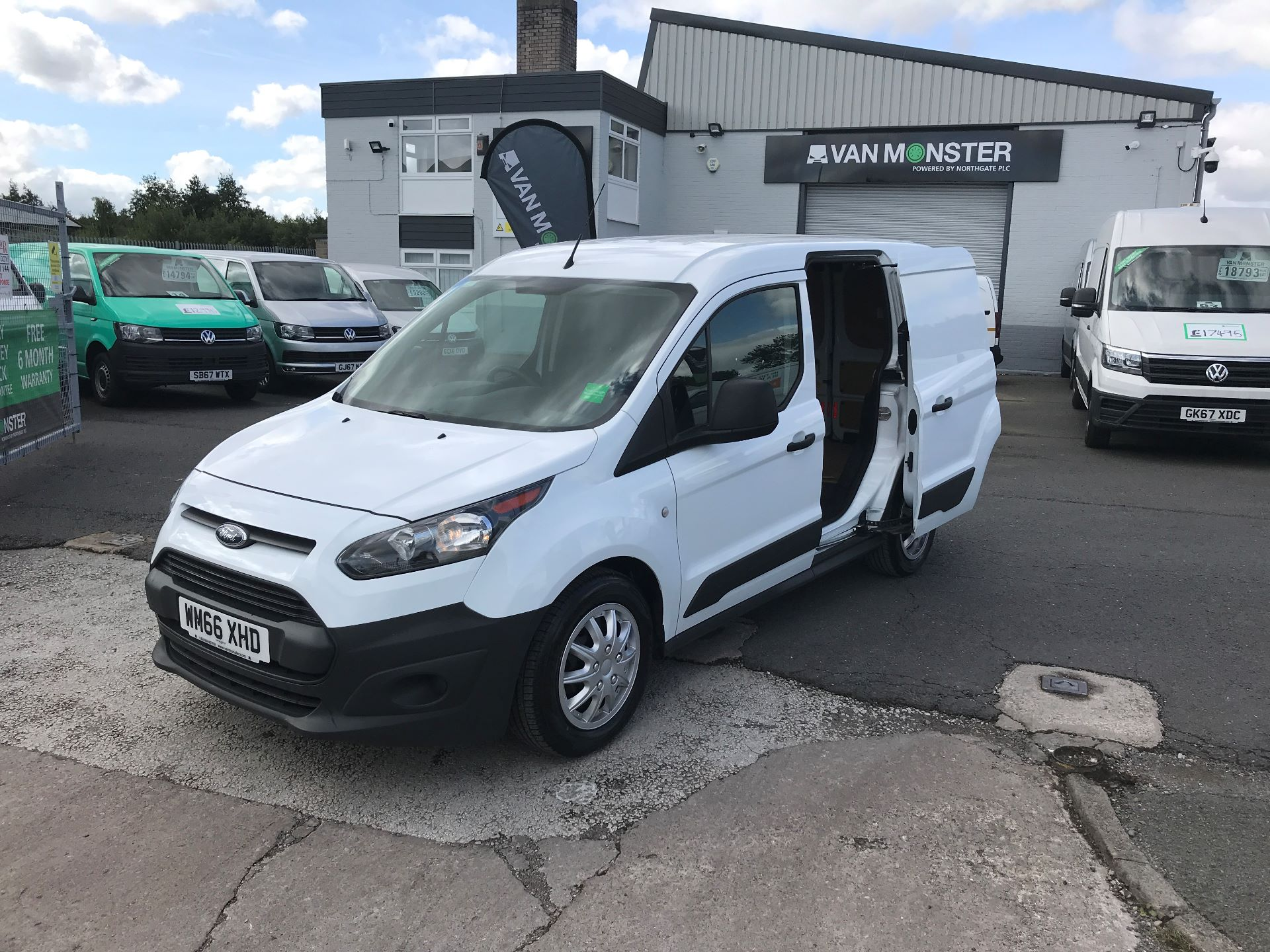 2016 Ford Transit Connect T200 L1 H1 1.5TDCI 75PS  (WM66XHD) Image 4