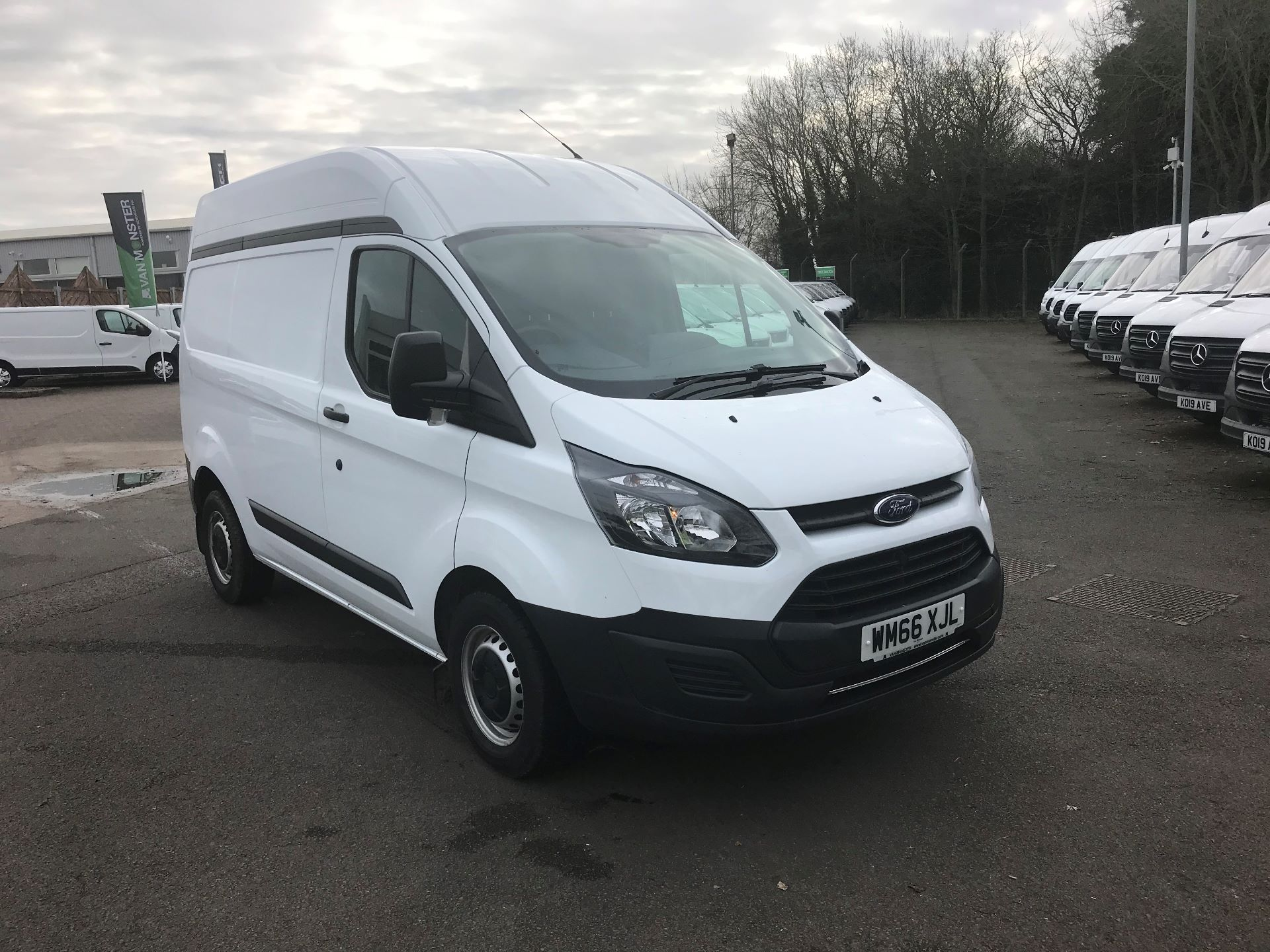 2016 Ford Transit Custom 2.0 TDCI 130PS HIGH ROOF VAN EURO 6 (WM66XJL) Image 1
