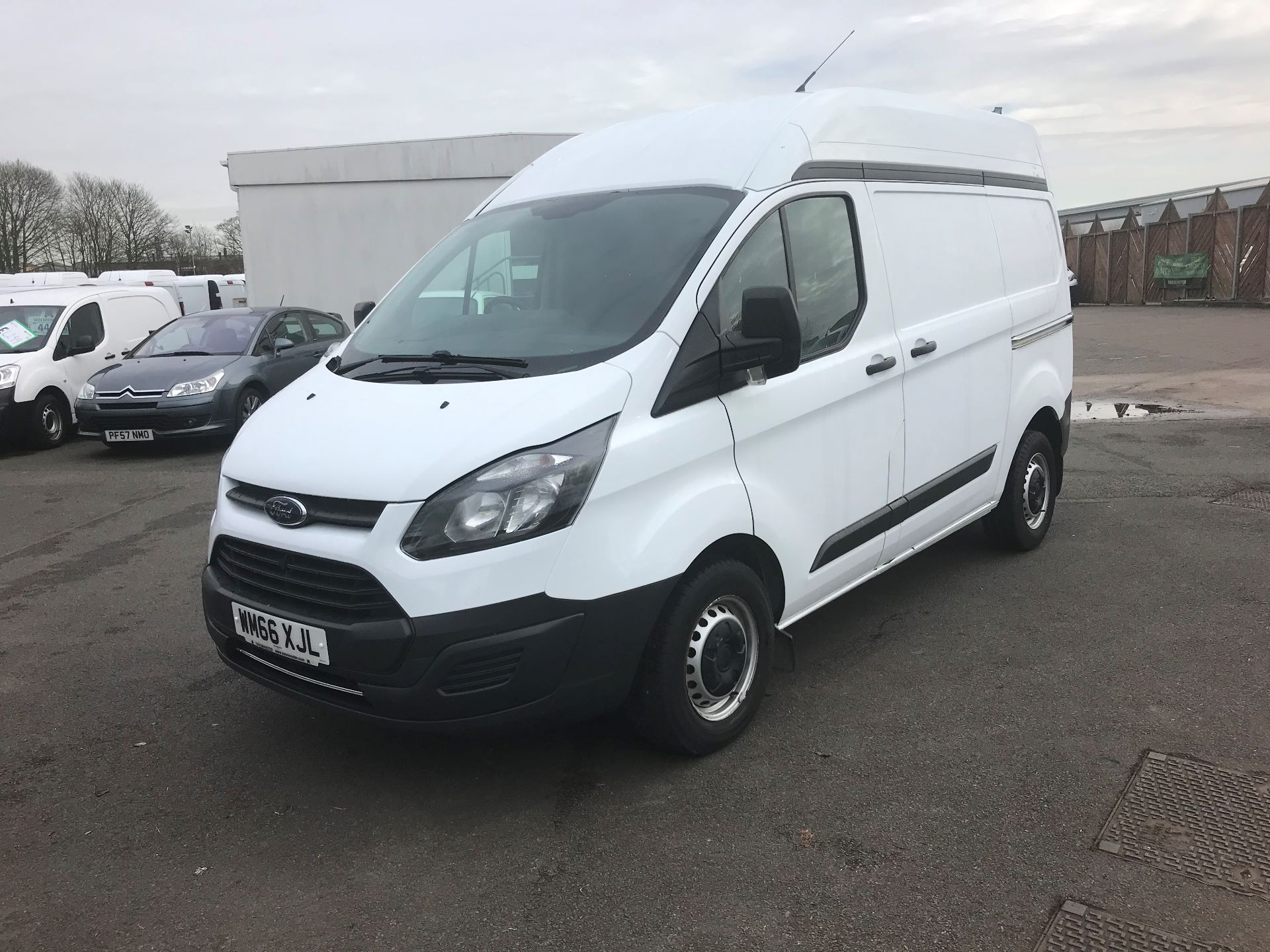 2016 Ford Transit Custom 2.0 TDCI 130PS HIGH ROOF VAN EURO 6 (WM66XJL) Image 3