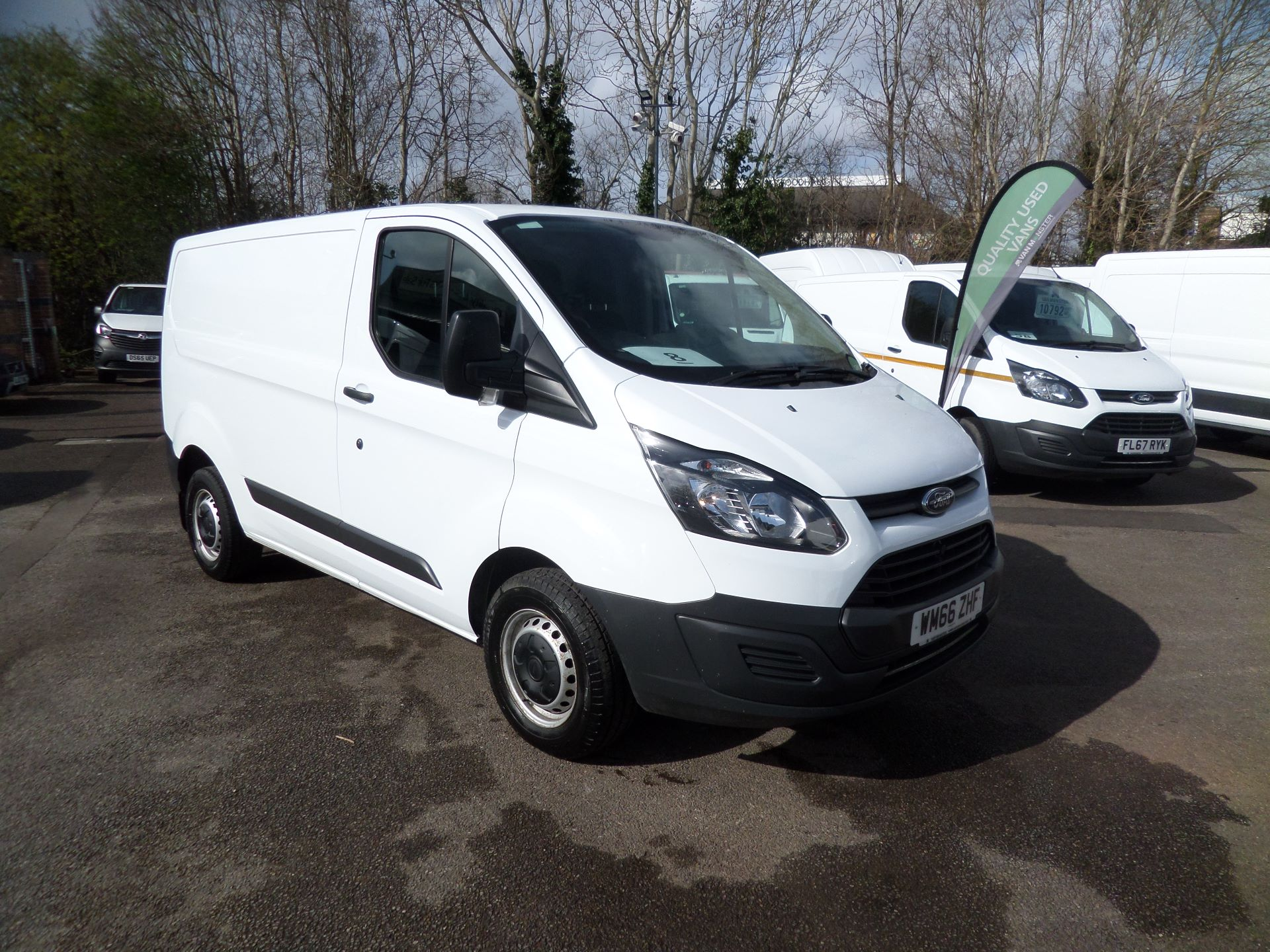 2016 Ford Transit Custom 2.0 Tdci 105Ps Low Roof Van Euro 6 (WM66ZHF)