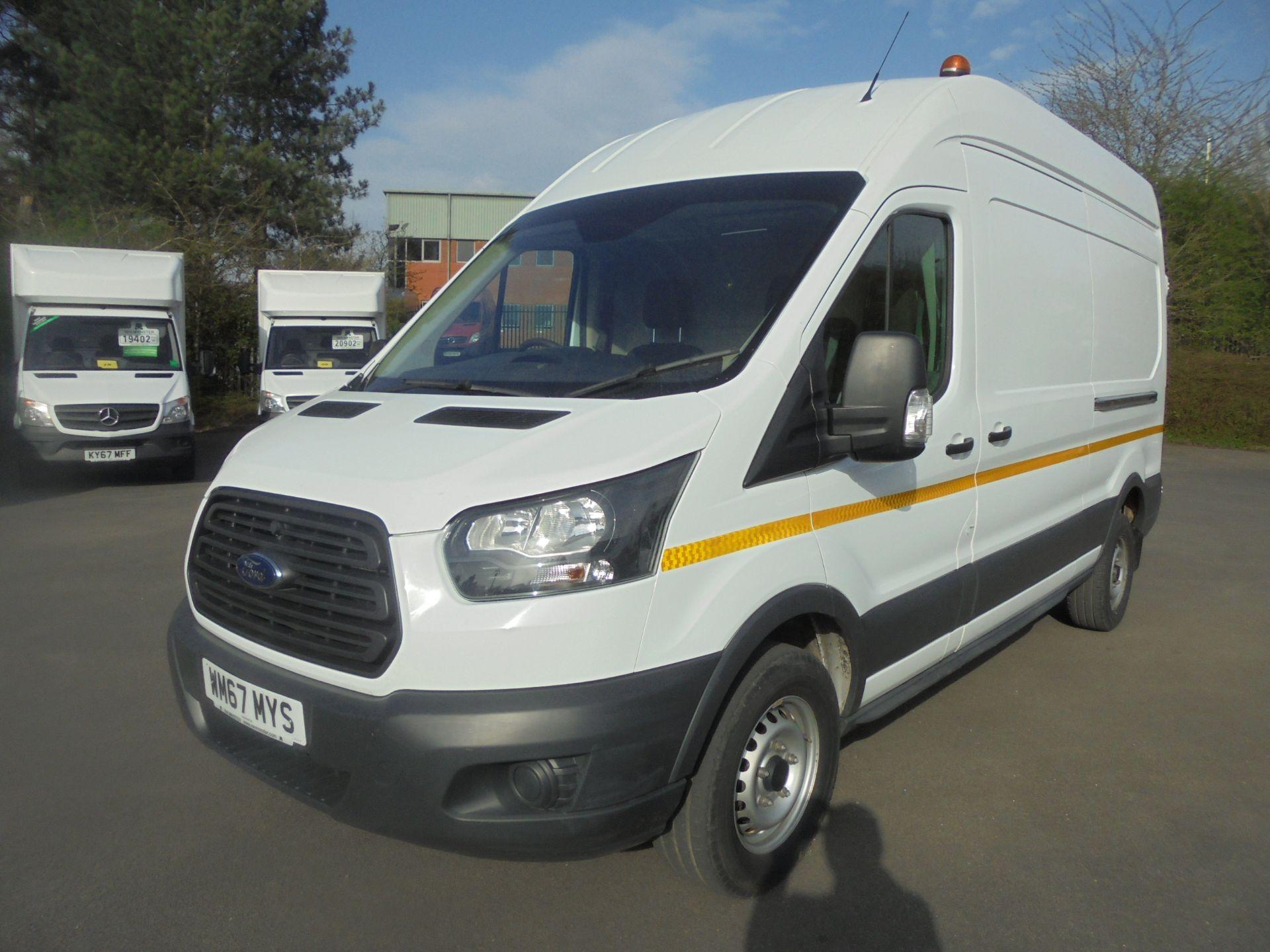 2018 Ford Transit 2.0 Tdci 130Ps H3 Van (WM67MYS) Image 3