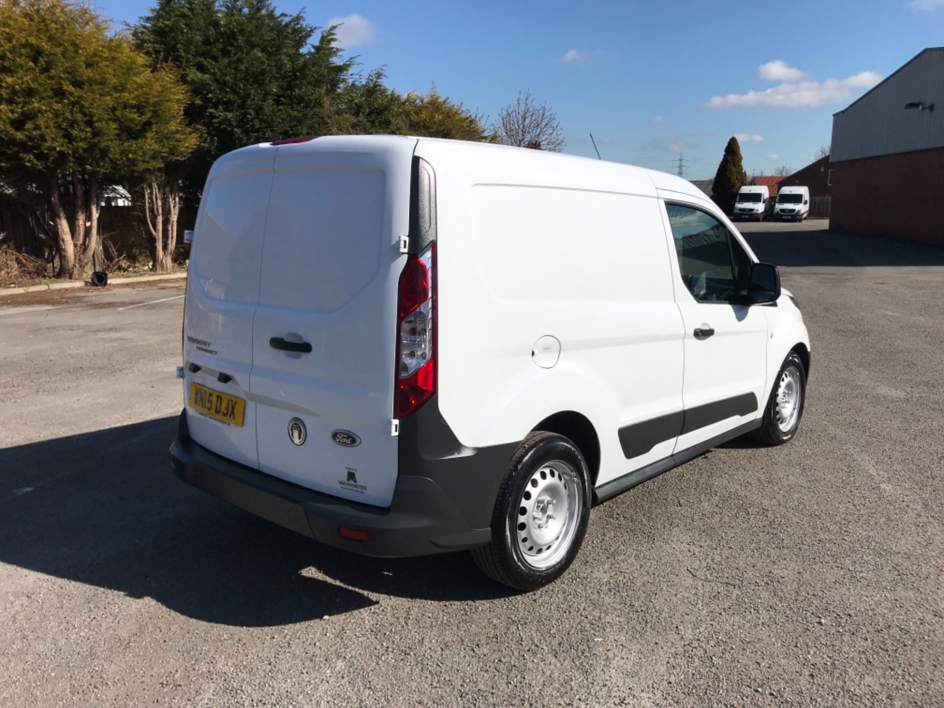 2015 Ford Transit Connect 1.6 Tdci 75Ps Van EURO 5 (WN15DJX) Image 7
