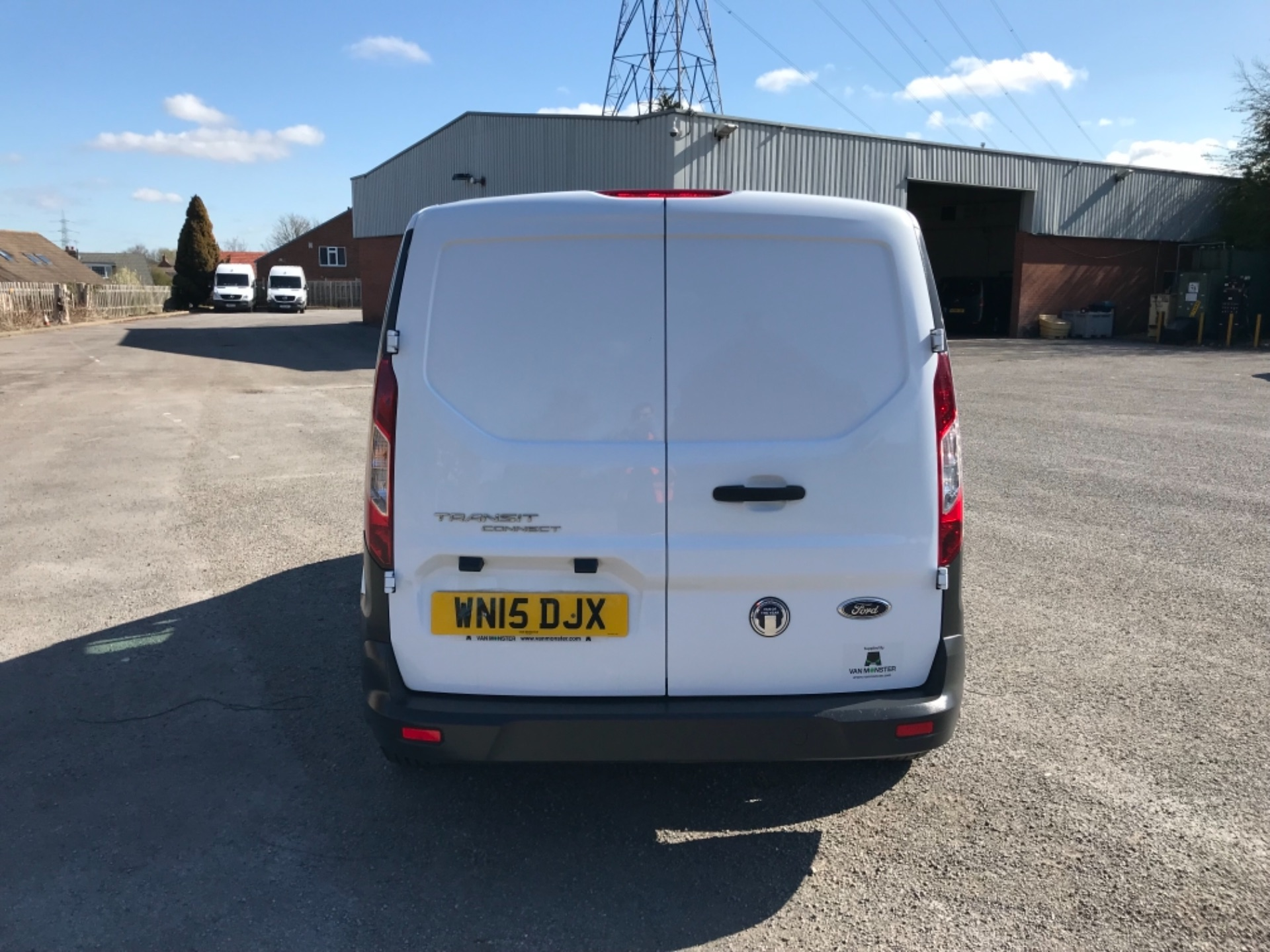 2015 Ford Transit Connect 1.6 Tdci 75Ps Van EURO 5 (WN15DJX) Image 6