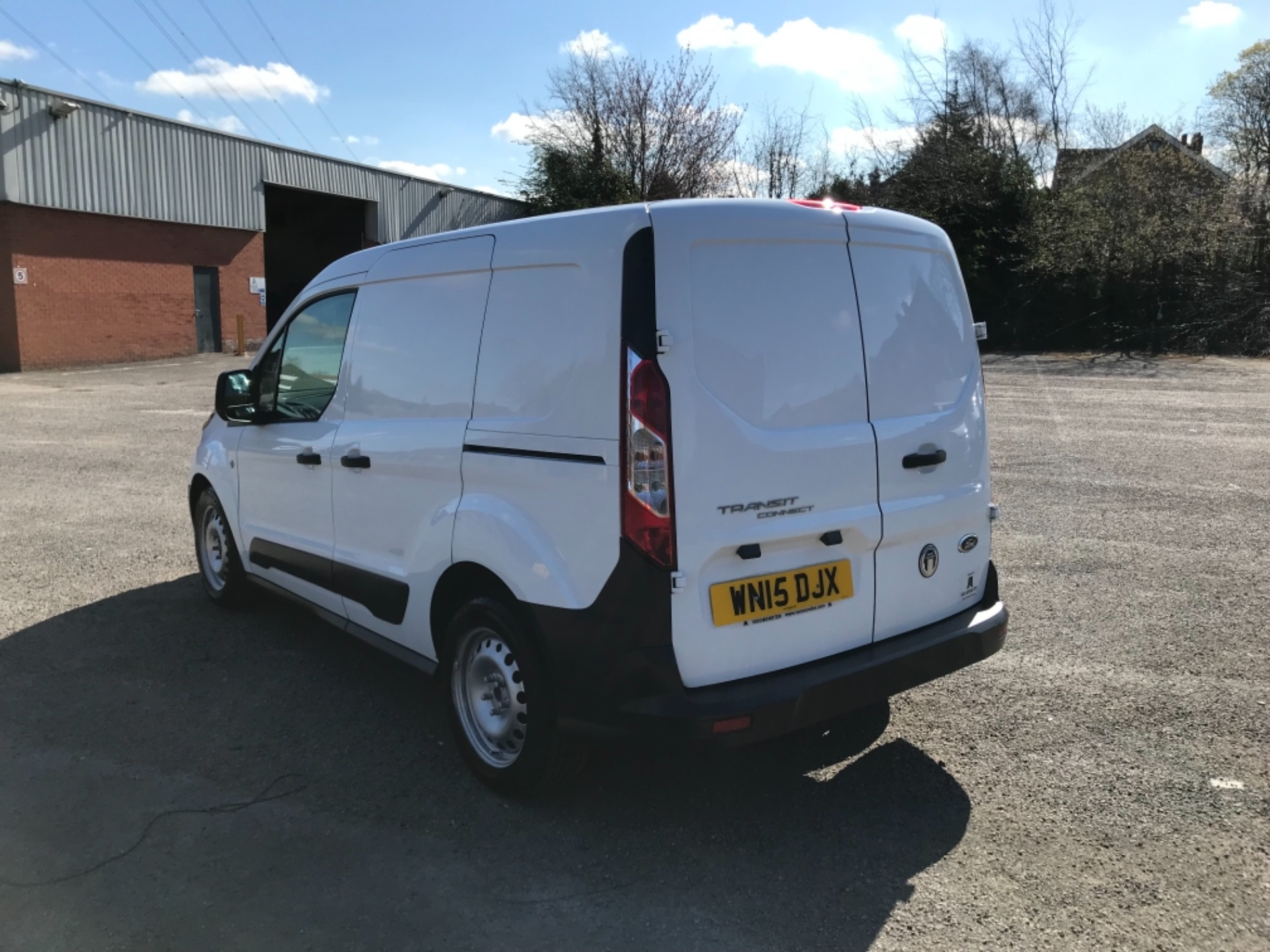 2015 Ford Transit Connect 1.6 Tdci 75Ps Van EURO 5 (WN15DJX) Image 5
