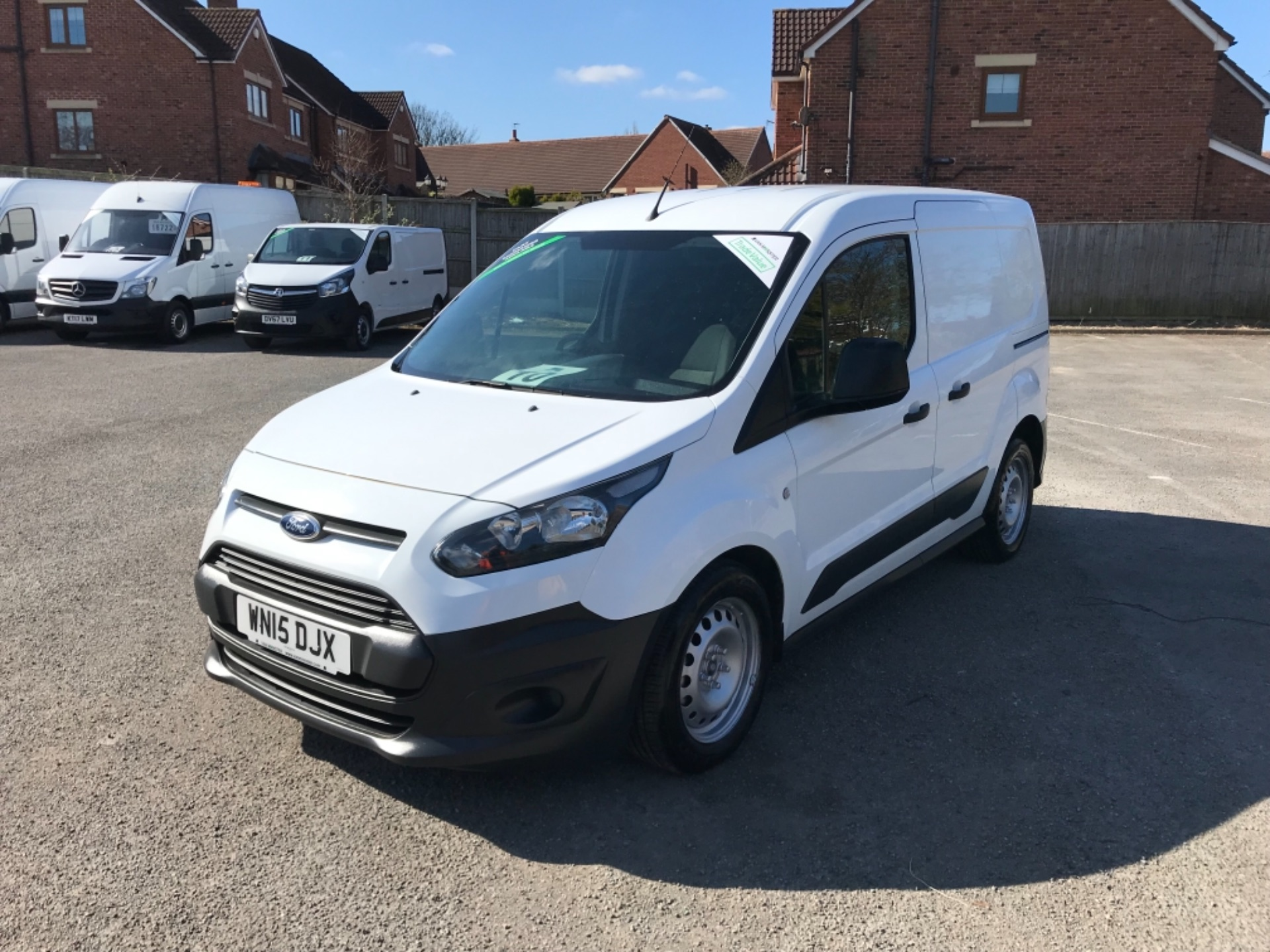 2015 Ford Transit Connect 1.6 Tdci 75Ps Van EURO 5 (WN15DJX) Thumbnail 3
