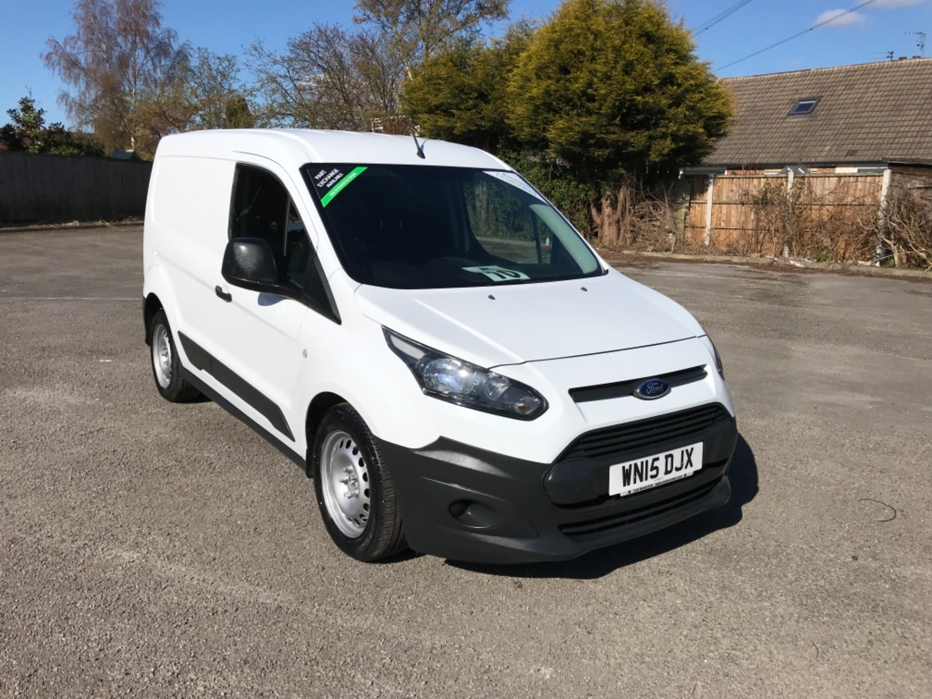 2015 Ford Transit Connect 1.6 Tdci 75Ps Van EURO 5 (WN15DJX) Thumbnail 1