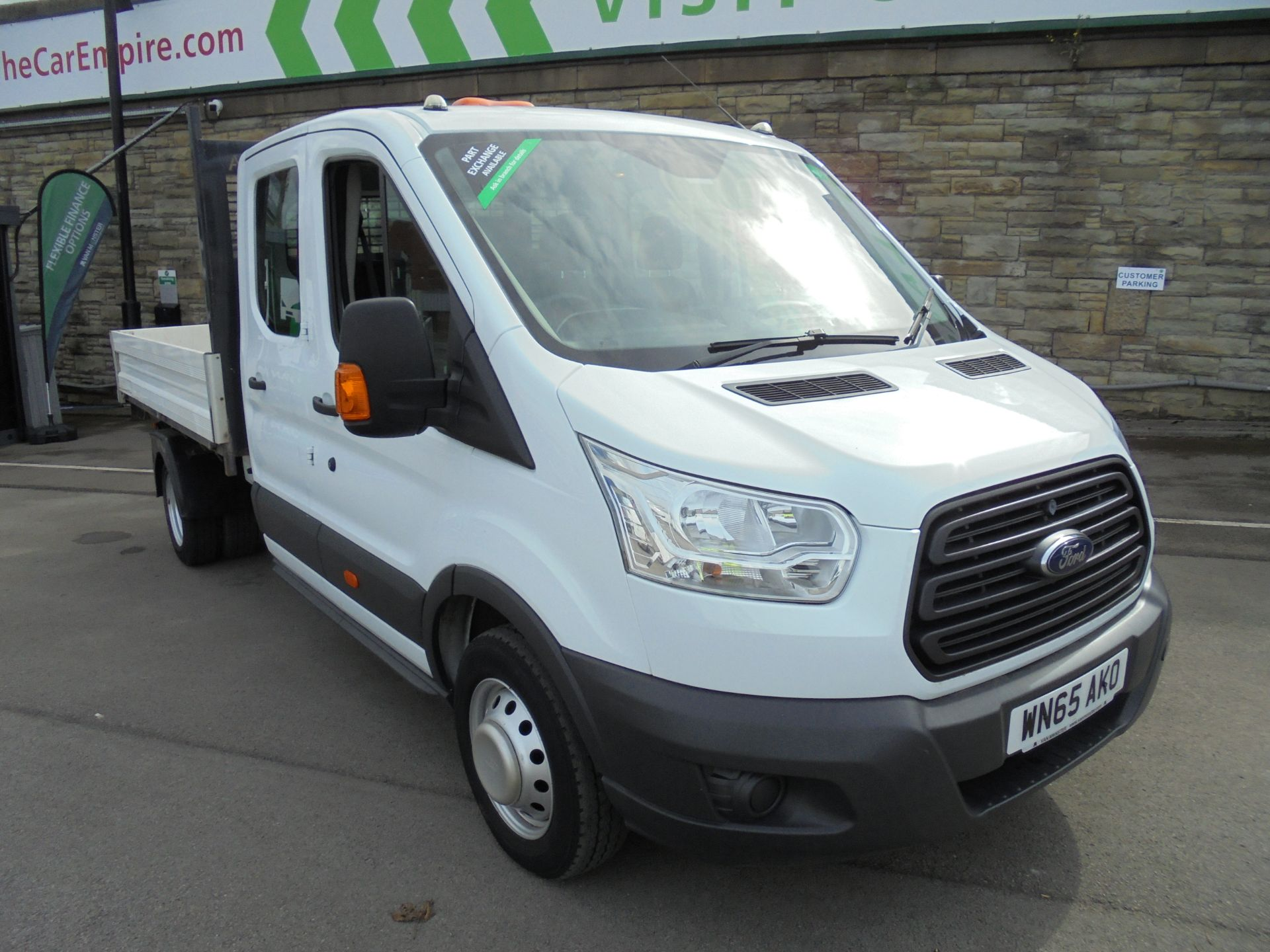 2015 Ford Transit 2.2 Tdci 125Ps Double Cab 1 way tipper (WN65AKO)