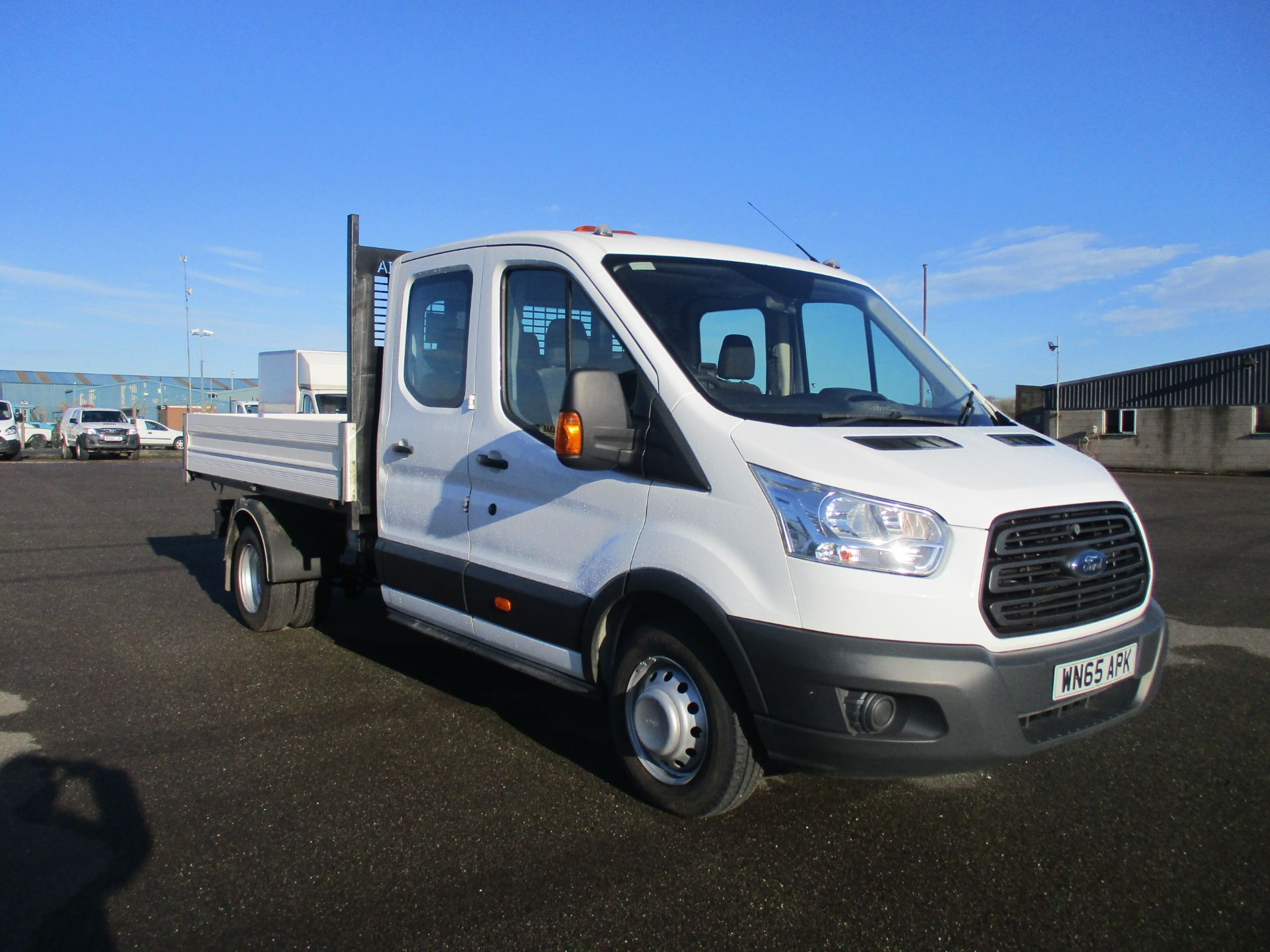 2015 Ford Transit 350 L3 DOUBLE CAB TIPPER 125PS EURO 5 (WN65APK)
