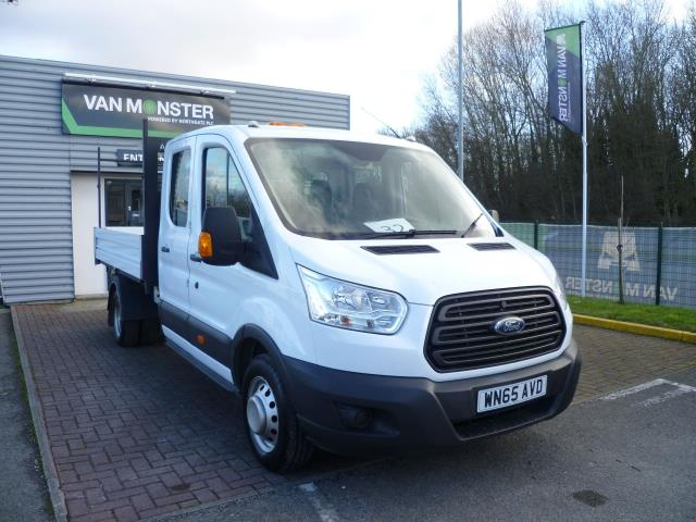 2015 Ford Transit 2.2 Tdci 125Ps Double Cab Chassis (WN65AVD)