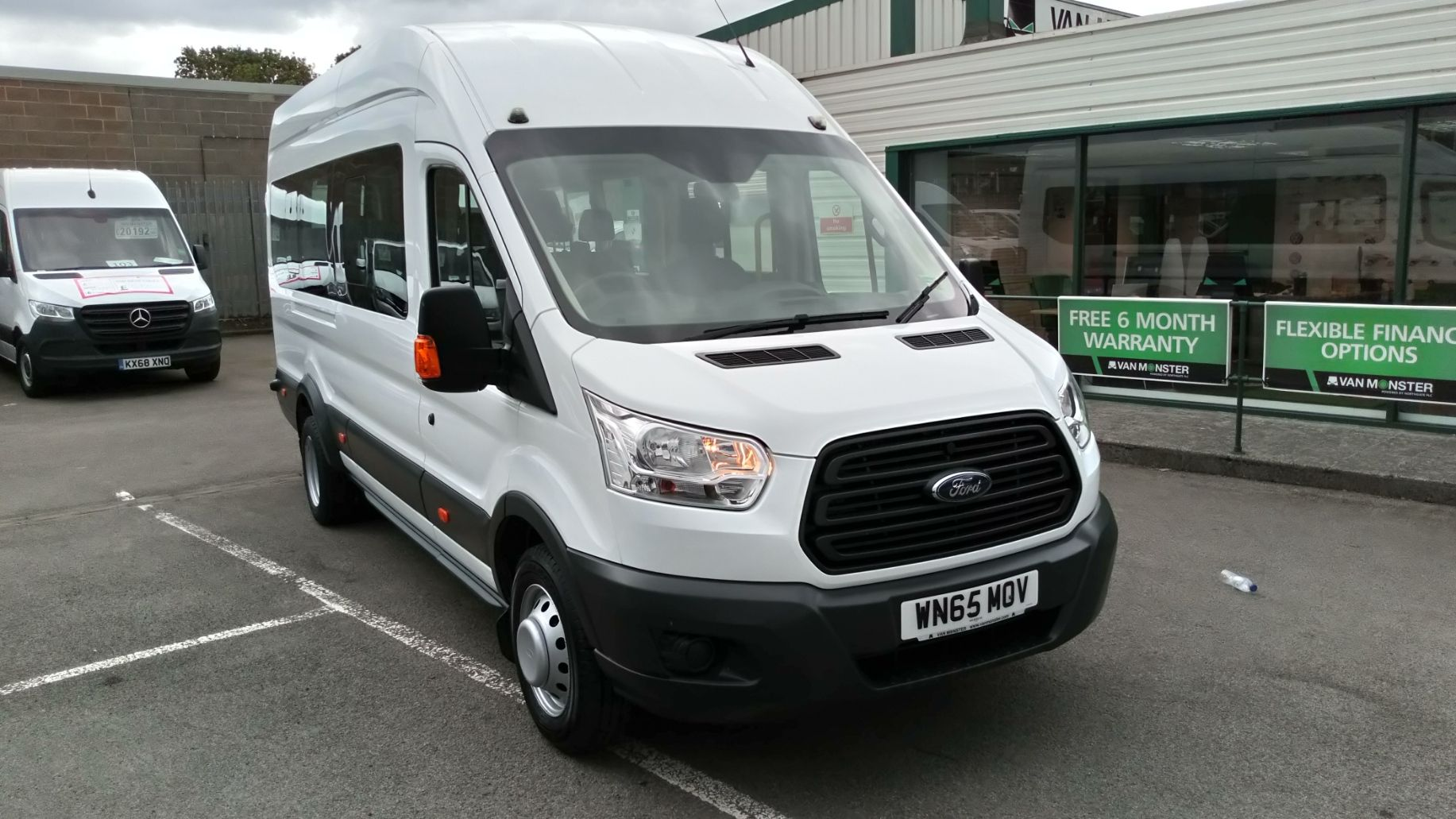 2015 Ford Transit 2.2 Tdci 125Ps H3 17 Seater (WN65MOV)