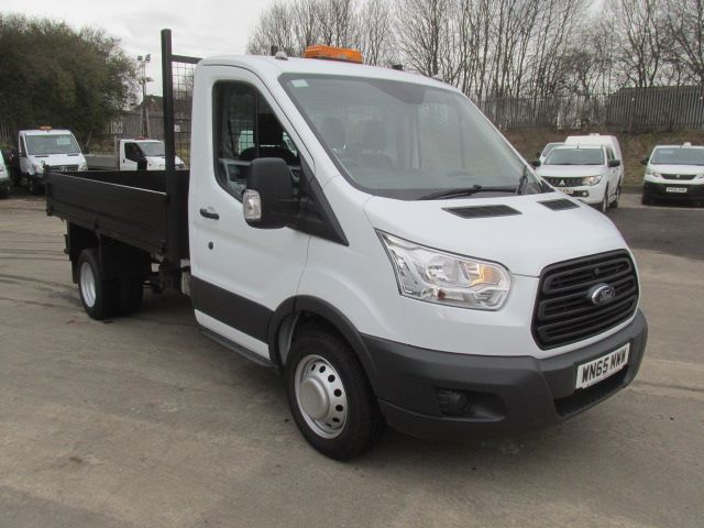 2015 Ford Transit 350 L2 2.2 Tdci 125Ps S/Cab Tipper  (WN65MWW)