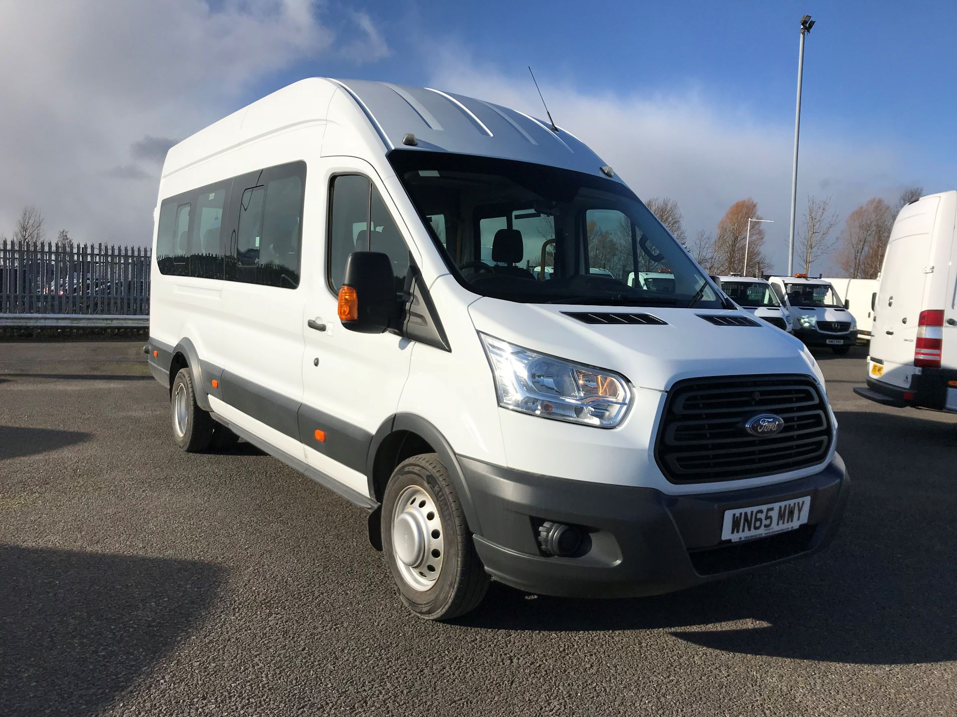 2015 Ford Transit 2.2 Tdci 125Ps H3 17 Seater (WN65MWY)
