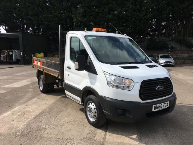 2016 Ford Transit 350 L2 SINGLE CAB TIPPER 125PS EURO 5 (WN65ZGX)