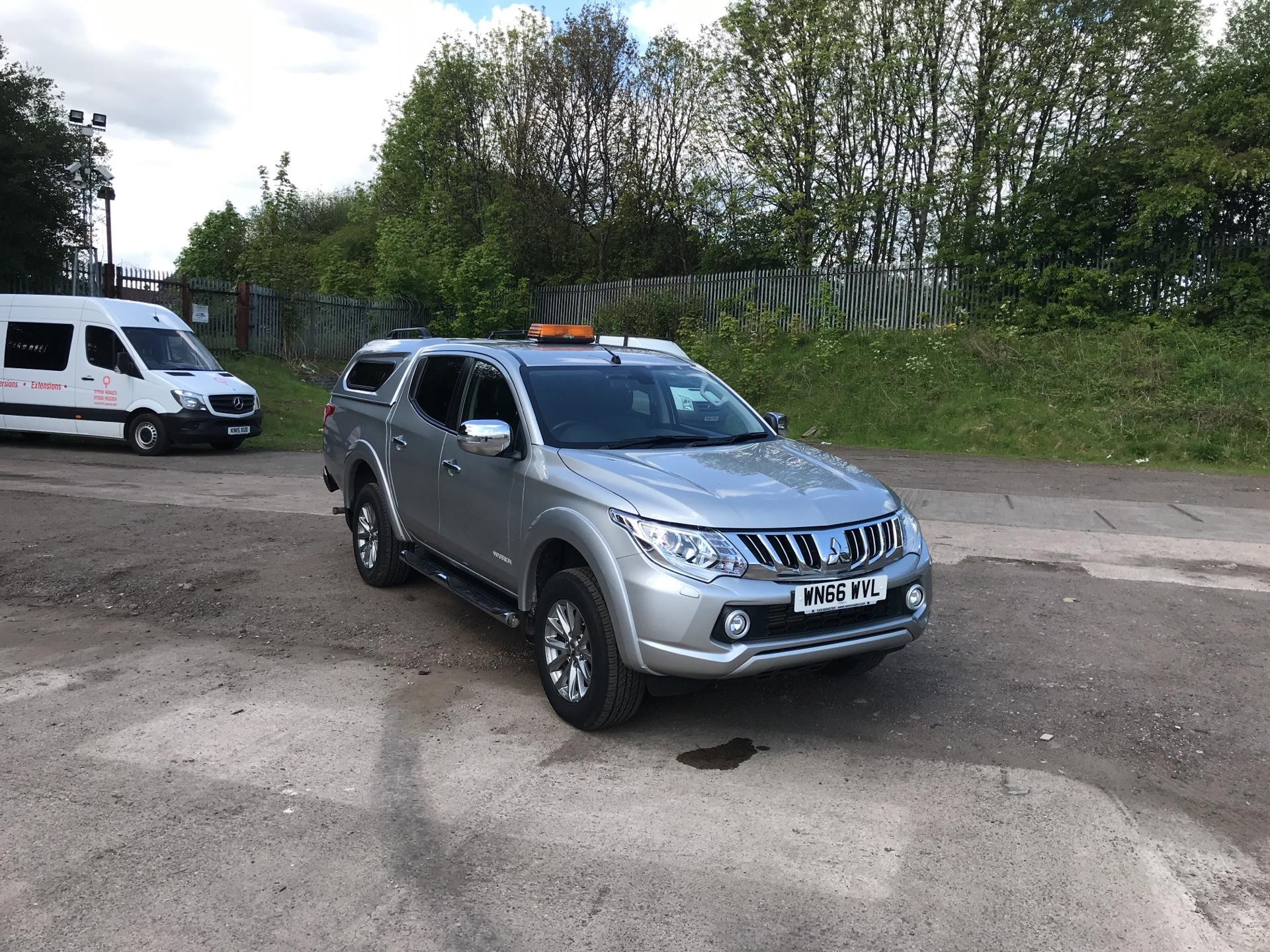 2016 Mitsubishi L200 DOUBLE CAB DI-D 178 WARRIOR 4WD (WN66WVL)