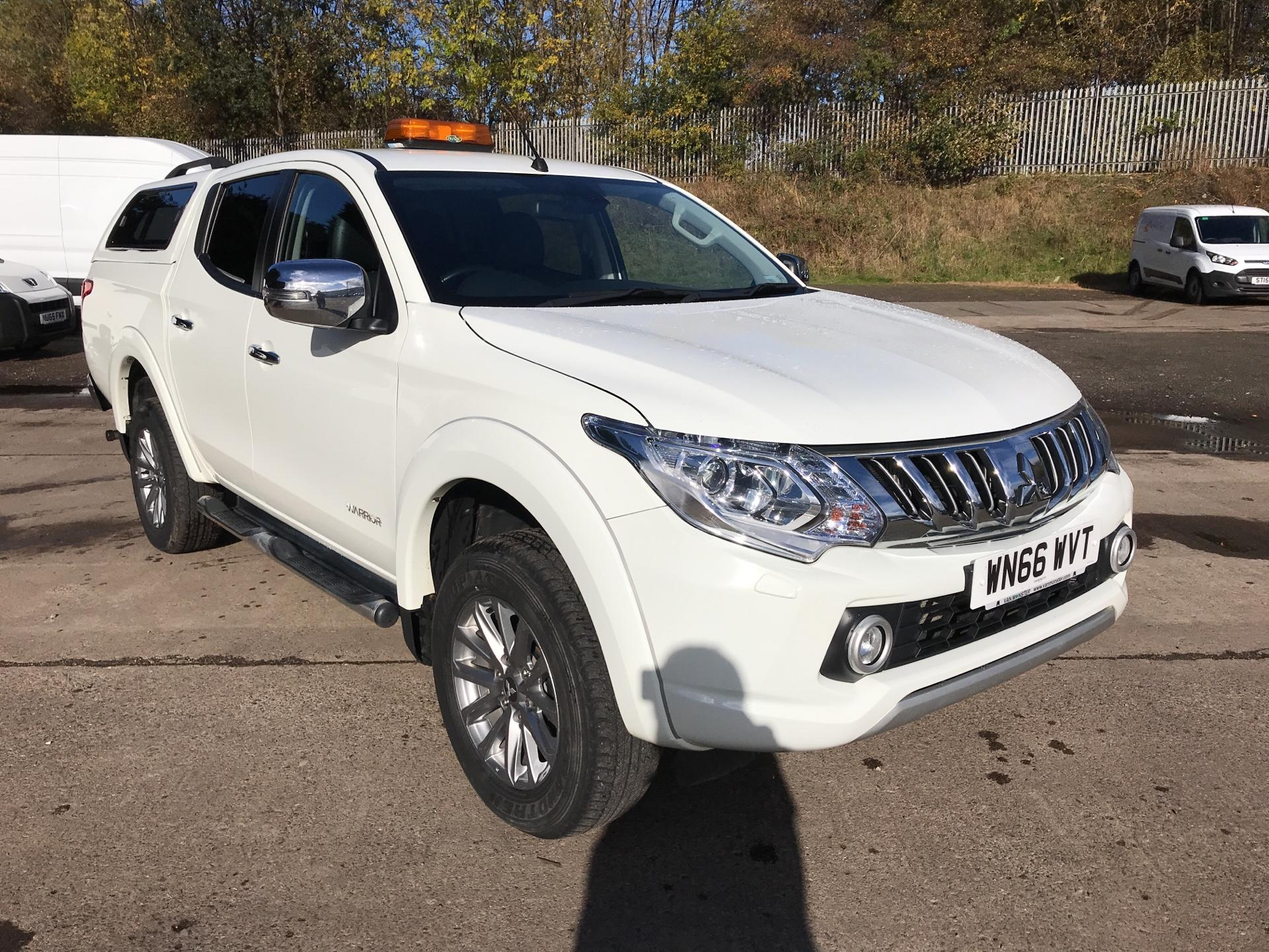 2016 Mitsubishi L200 DOUBLE CAB DI-D 178PS WARRIOR 4WD AUTO EURO 5 (WN66WVT)