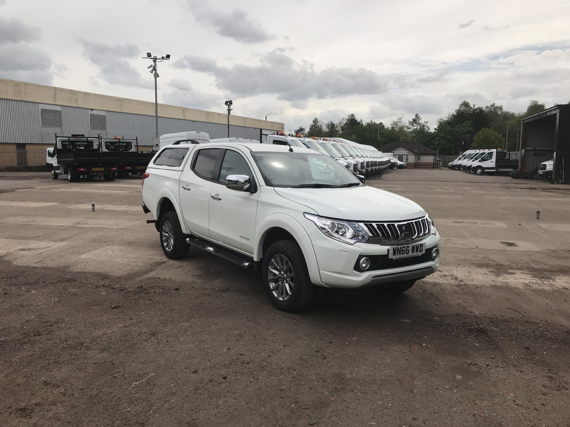2016 Mitsubishi L200 DOUBLE CAB DI-D 178 WARRIOR 4WD AUTO (WN66WWD)